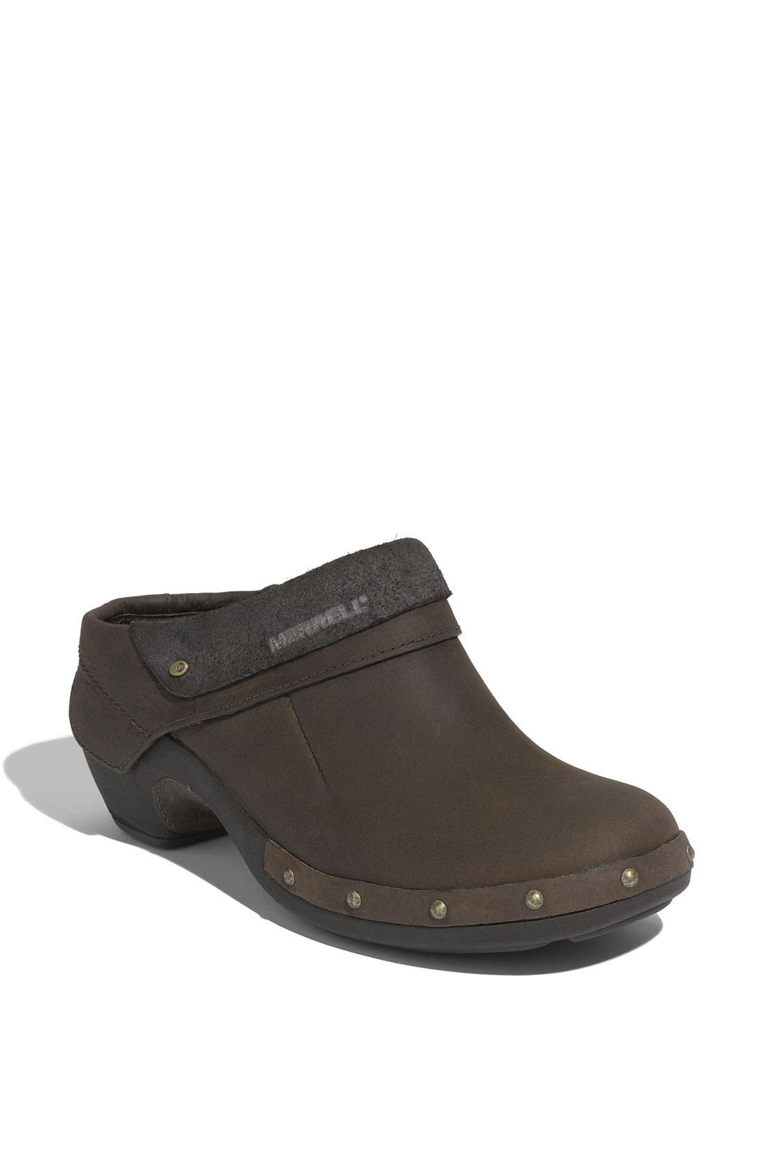 Alternate Image 1 Selected - Merrell 'Luxe Wrap' Nubuck Leather Clog