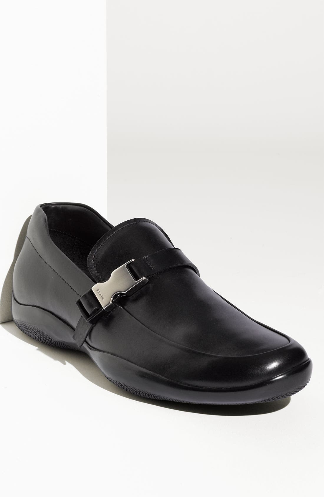 Alternate Image 1 Selected - Prada Logo Bit Slip-On (Men)