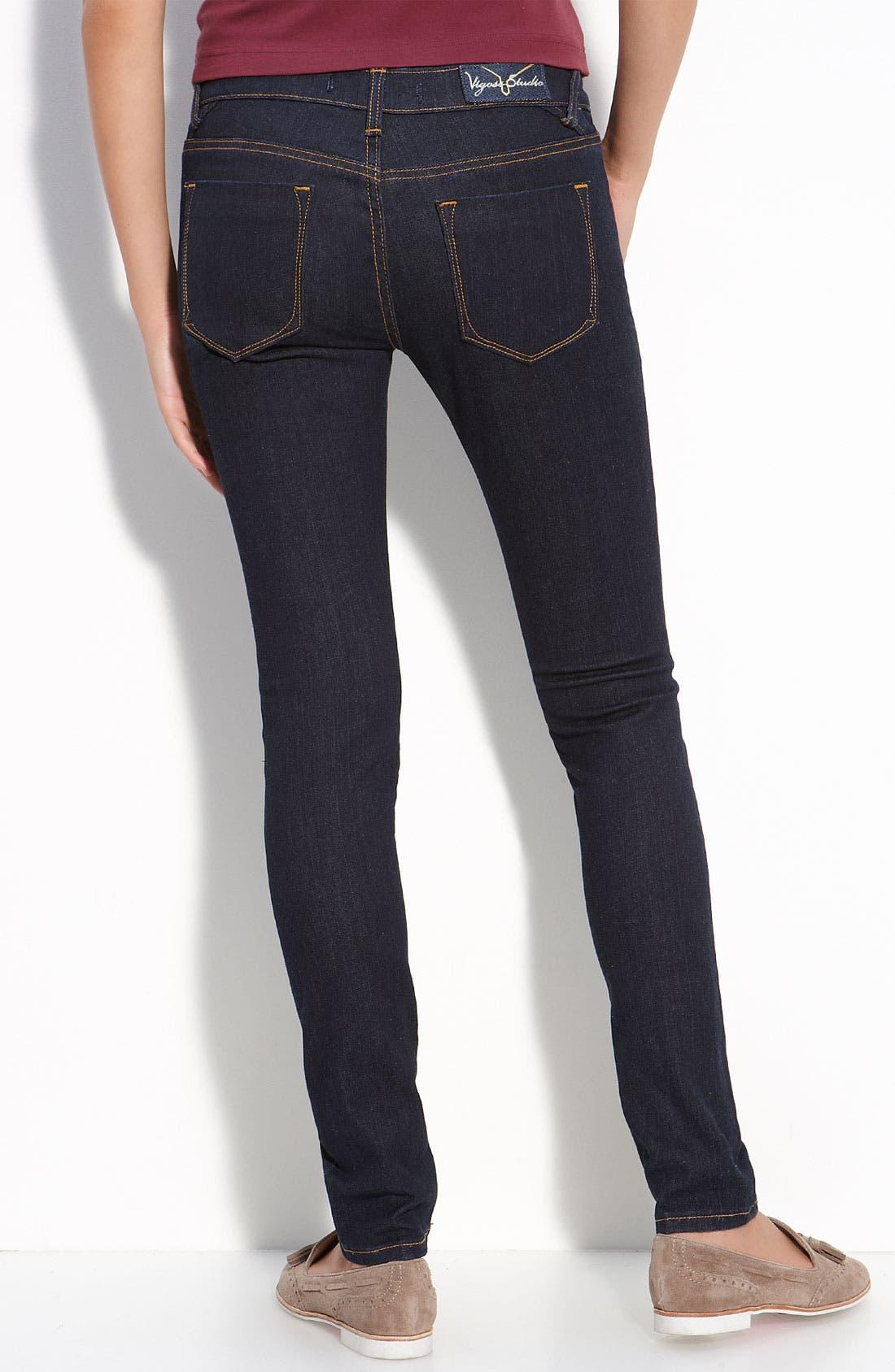 Alternate Image 1 Selected - Vigoss Skinny Jeans (Juniors Regular & Long)