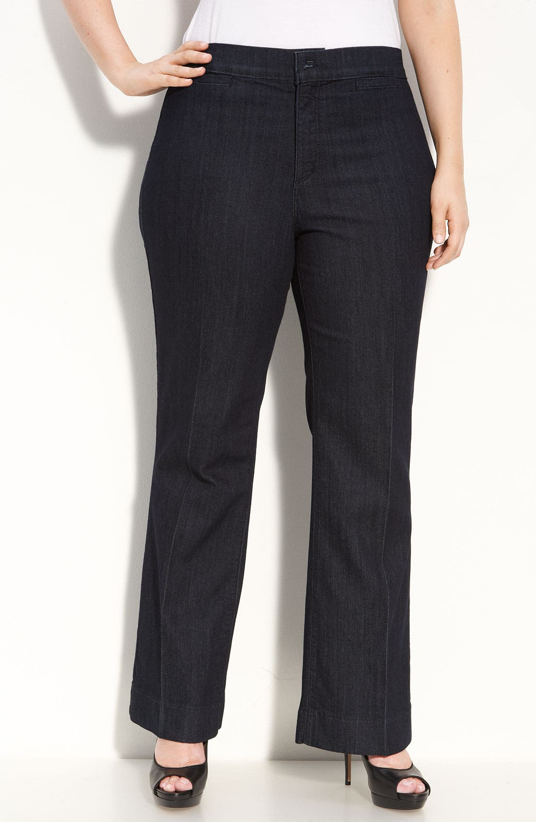 Alternate Image 1 Selected - NYDJ 'Michelle' Trouser Jeans (Plus Size)