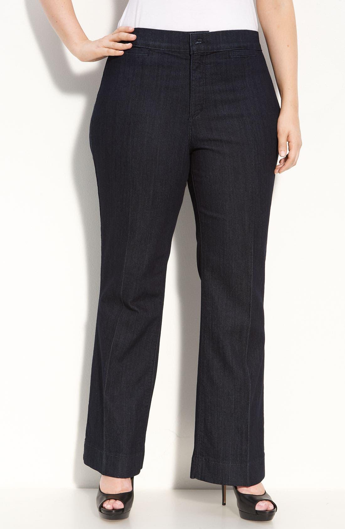 Main Image - NYDJ 'Michelle' Trouser Jeans (Plus Size)