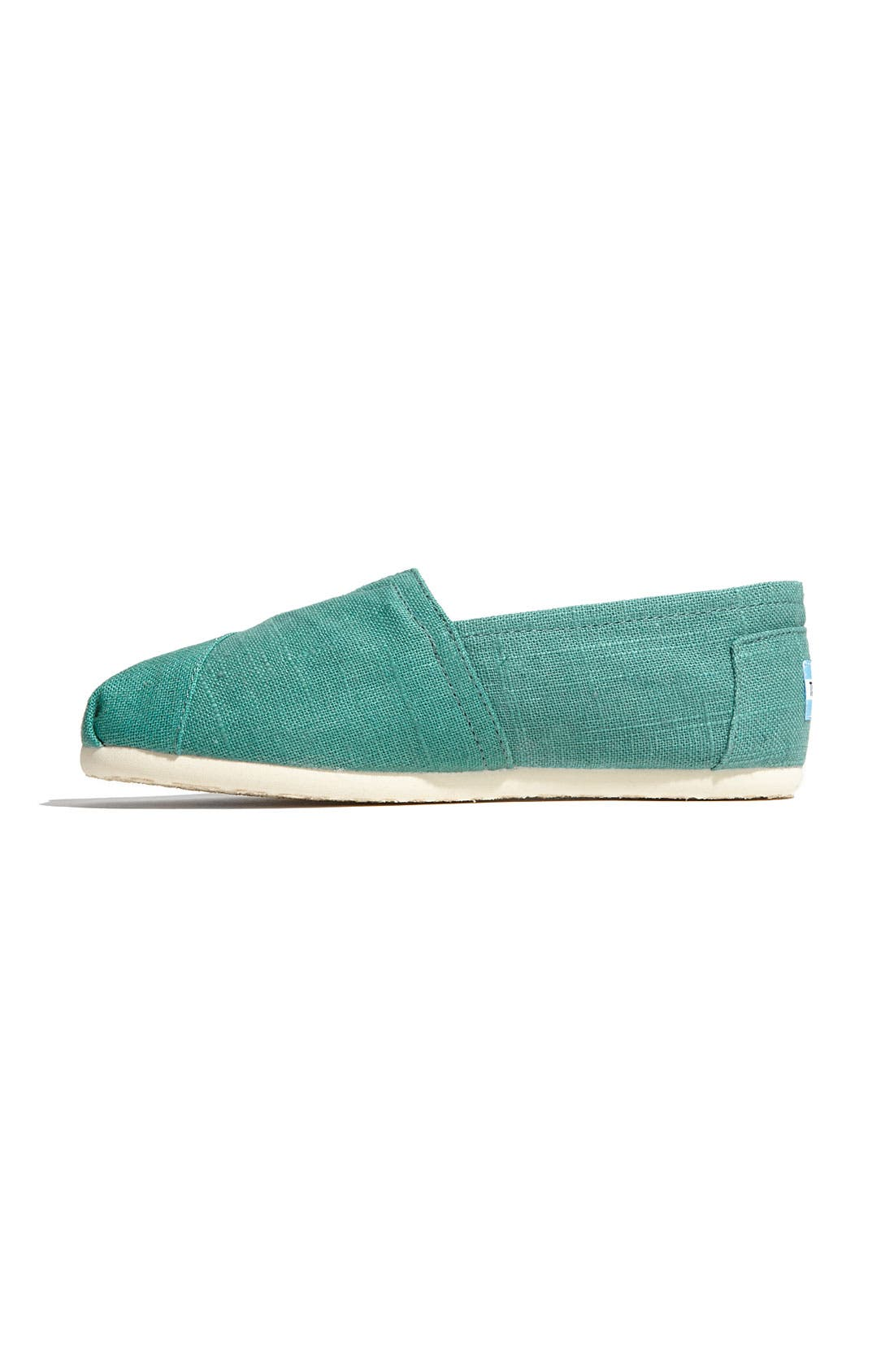 Alternate Image 2  - TOMS 'Classic' Linen Slip-On (Women)