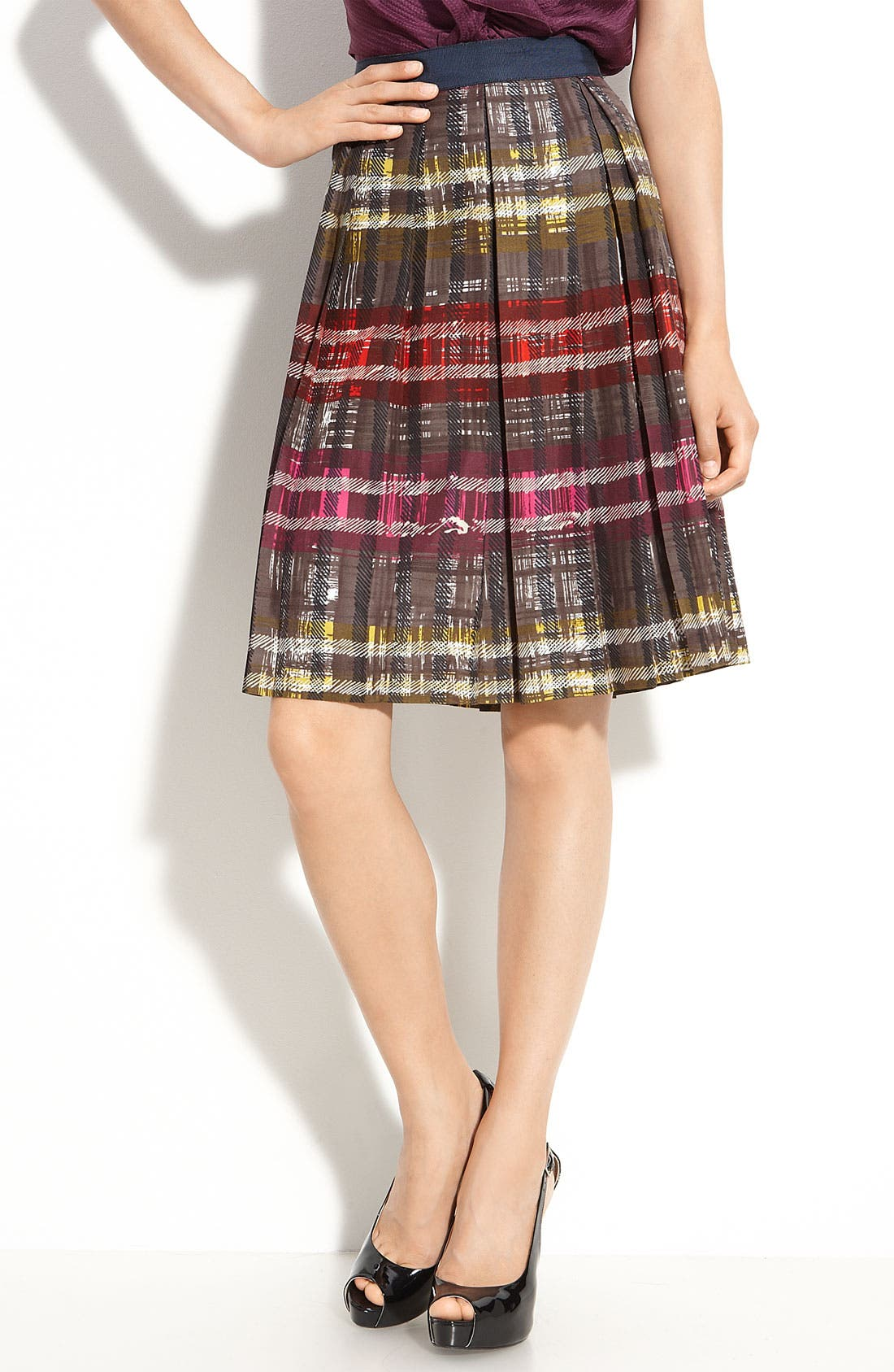 Main Image - Trina Turk 'Tidepool' Silk Skirt