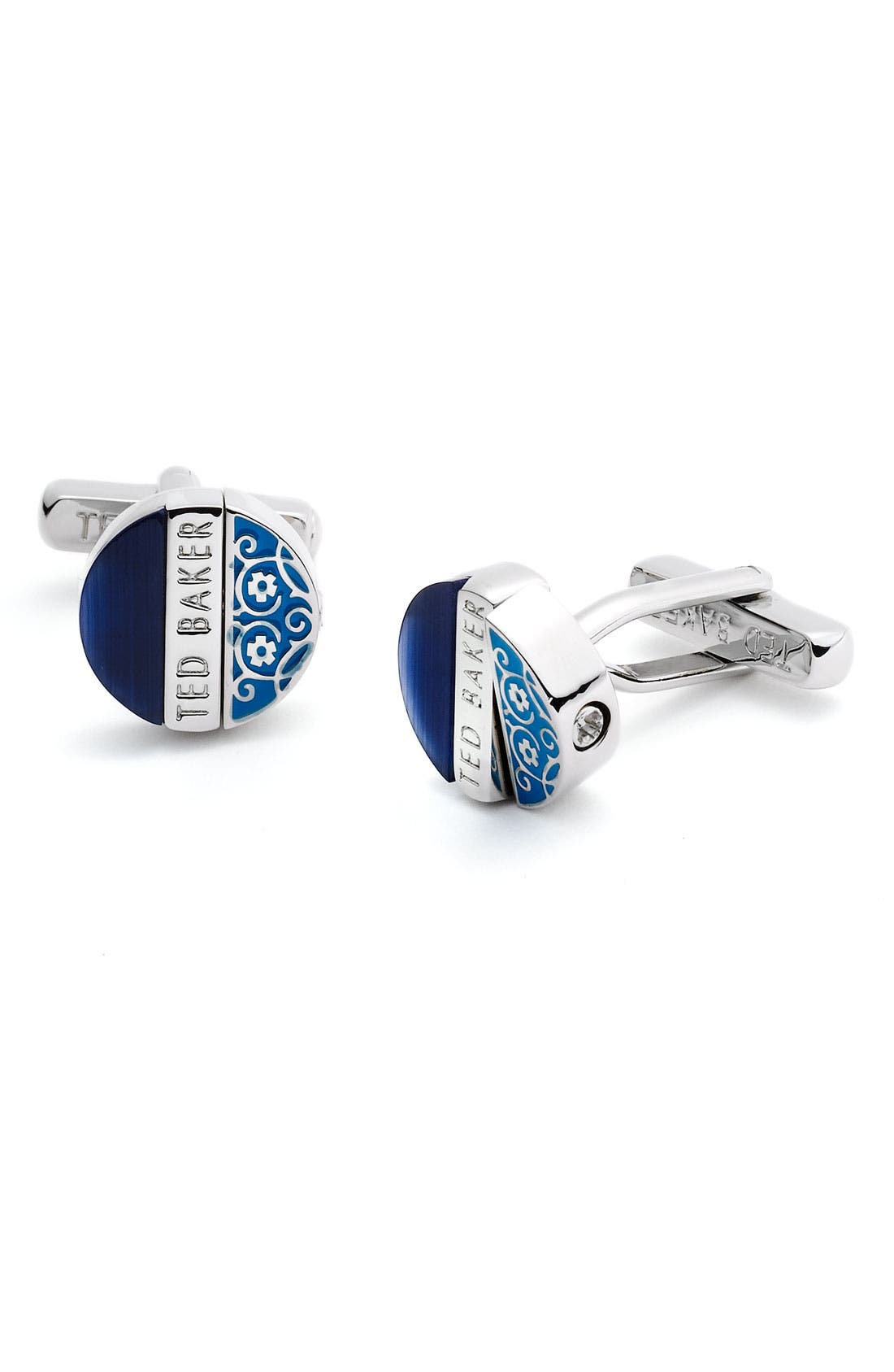 Alternate Image 1 Selected - Ted Baker London Cat's Eye Cuff Links