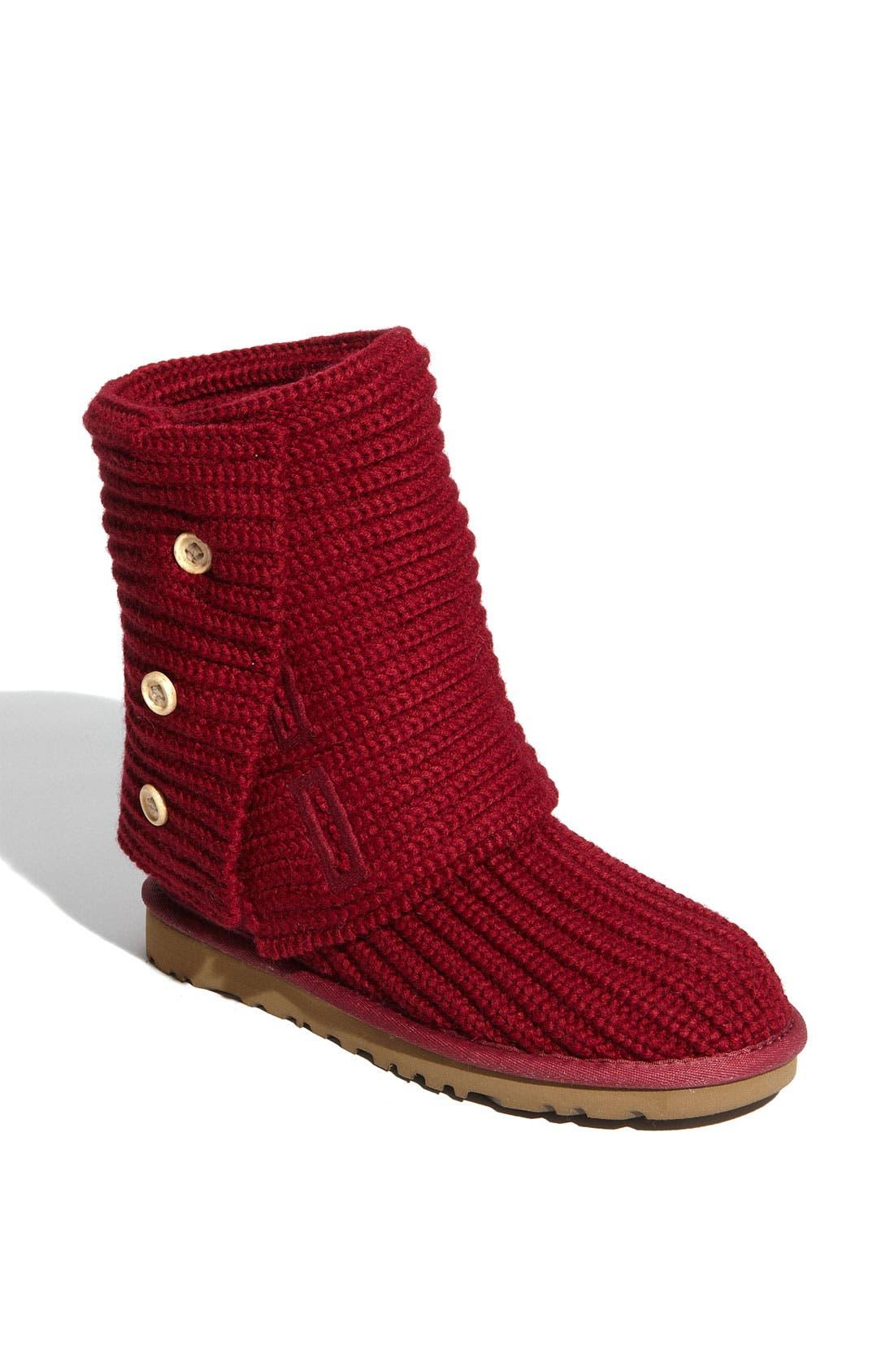 Main Image - UGG® 'Cardy' Classic Knit Boot (Women)