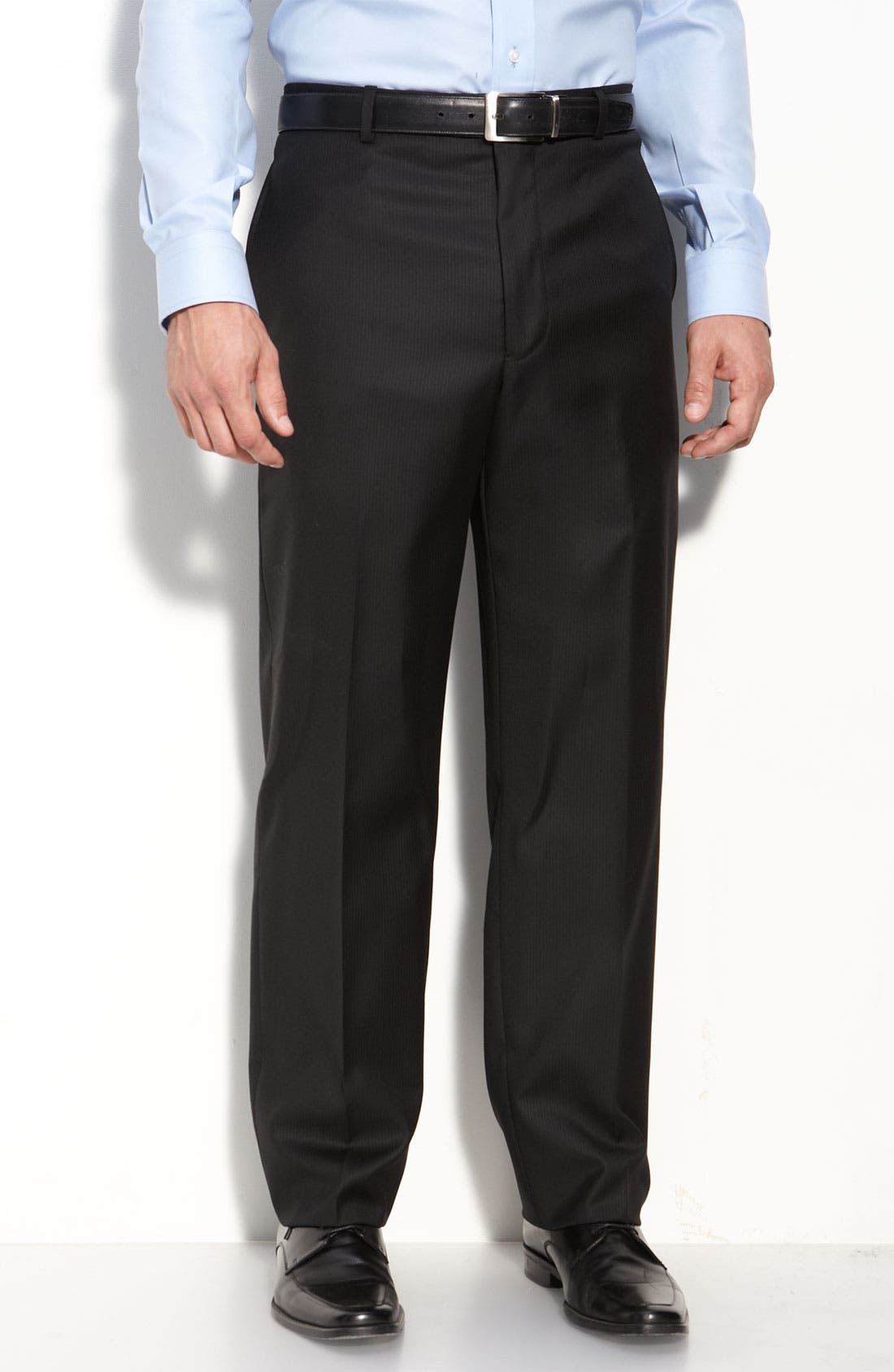 Alternate Image 4  - Joseph Abboud Black Wool Suit
