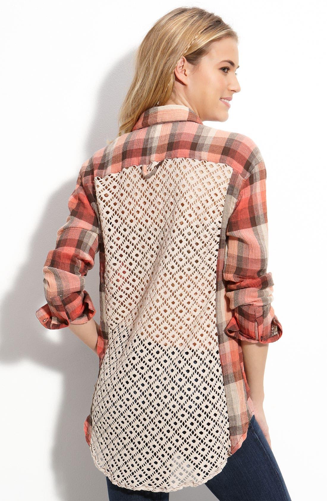 Alternate Image 2  - Free People 'Road Trip' Long Sleeve Shirt