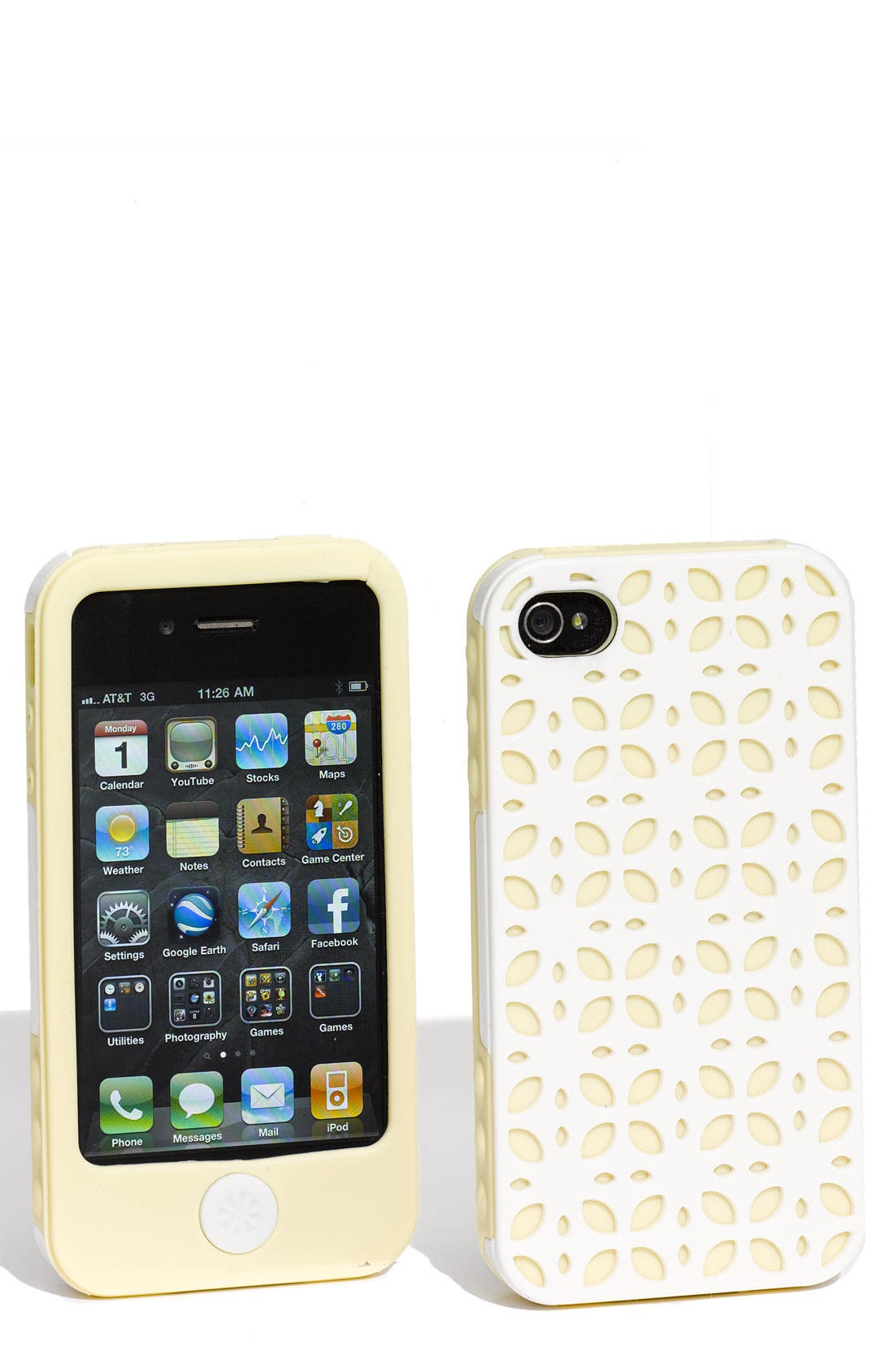 Alternate Image 1 Selected - Tech Candy 'New York' iPhone 4 & 4S Case (3-Piece Set)