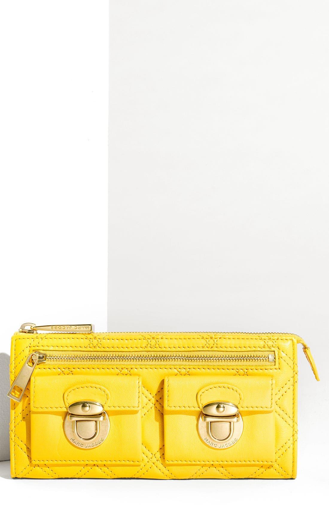 Main Image - MARC JACOBS Zip Clutch Wallet