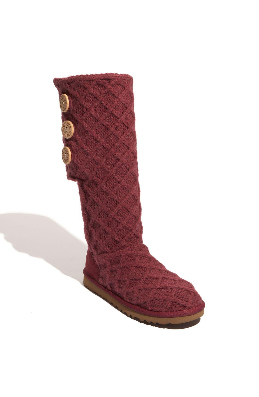 Main Image - UGG® Australia 'Lattice Cardy' Boot (Women)