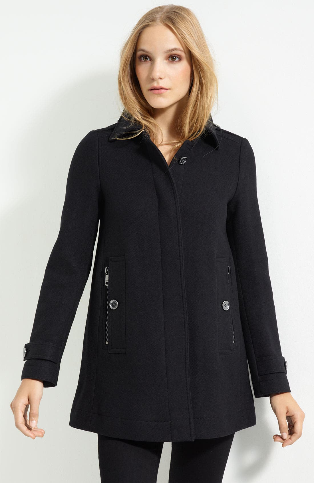 Alternate Image 1 Selected - Burberry Brit 'Elmsby' Three Quarter Length Coat