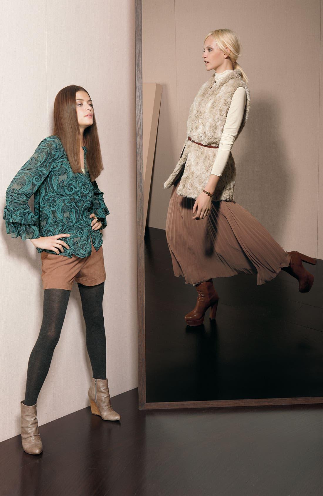 Alternate Image 4  - Hinge® Suede Shorts