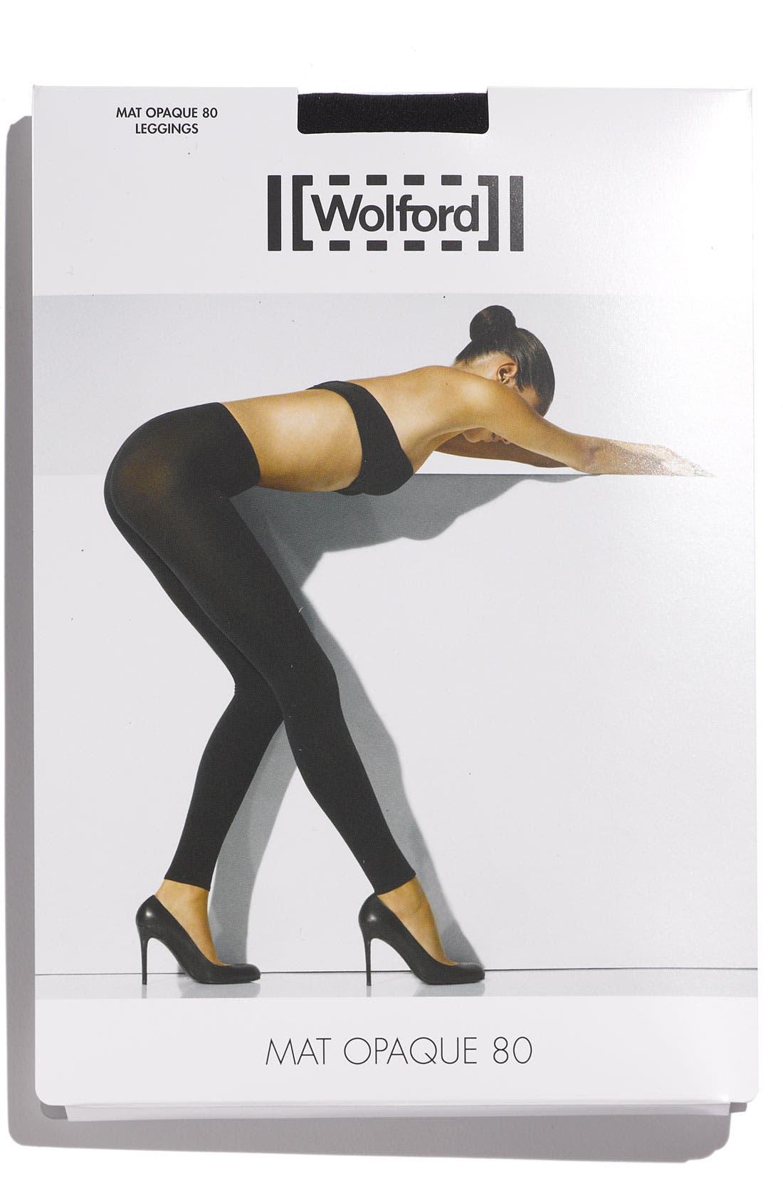 Alternate Image 2  - Wolford 'Matte Opaque 80' Leggings