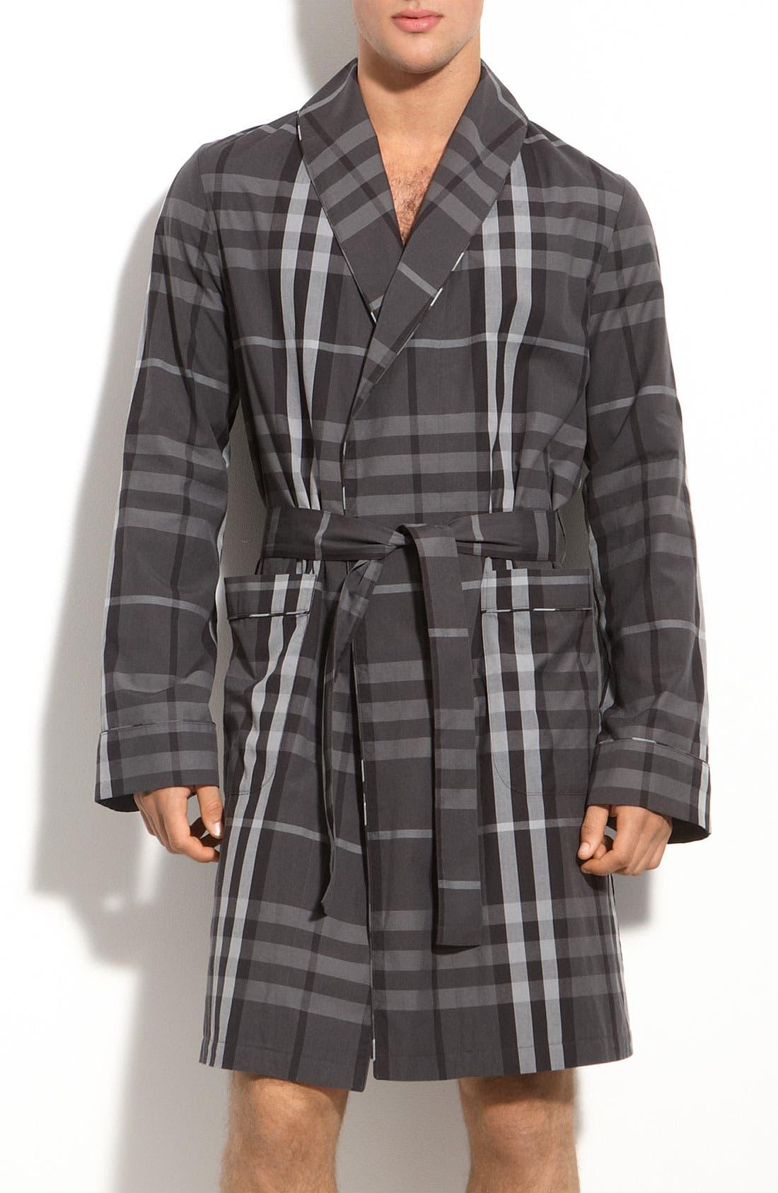 Alternate Image 1 Selected - Burberry Brit Check Print Robe