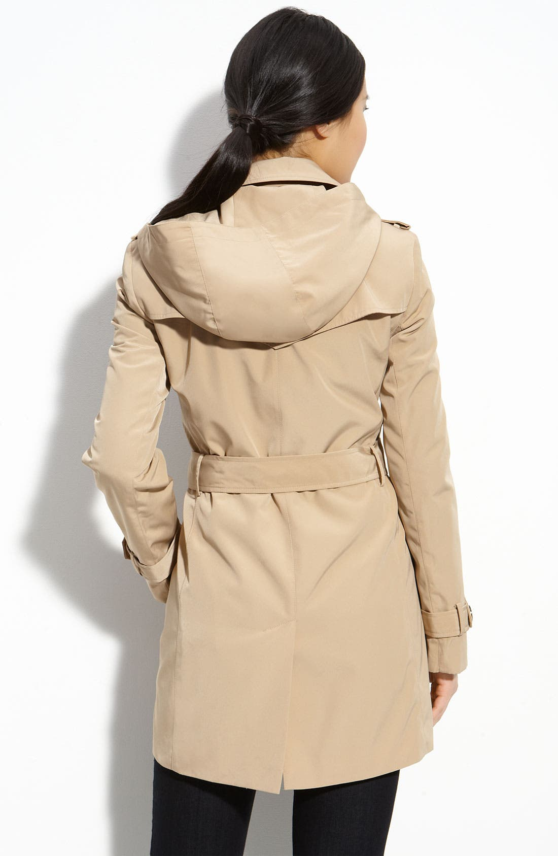 Alternate Image 2  - Calvin Klein Trench with Zip Out Lining