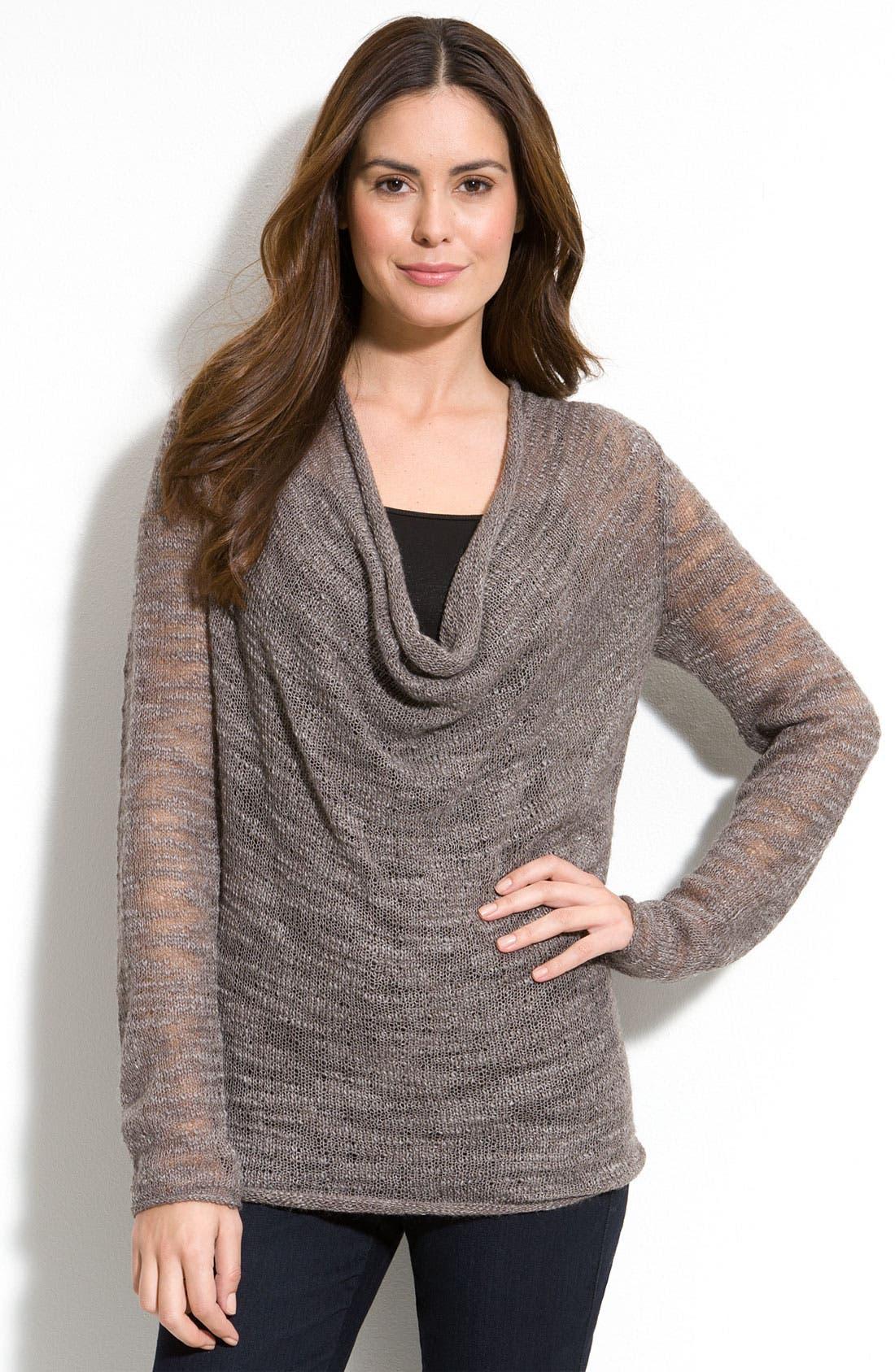 Alternate Image 1 Selected - Isda & Co. Drape Neck Sweater