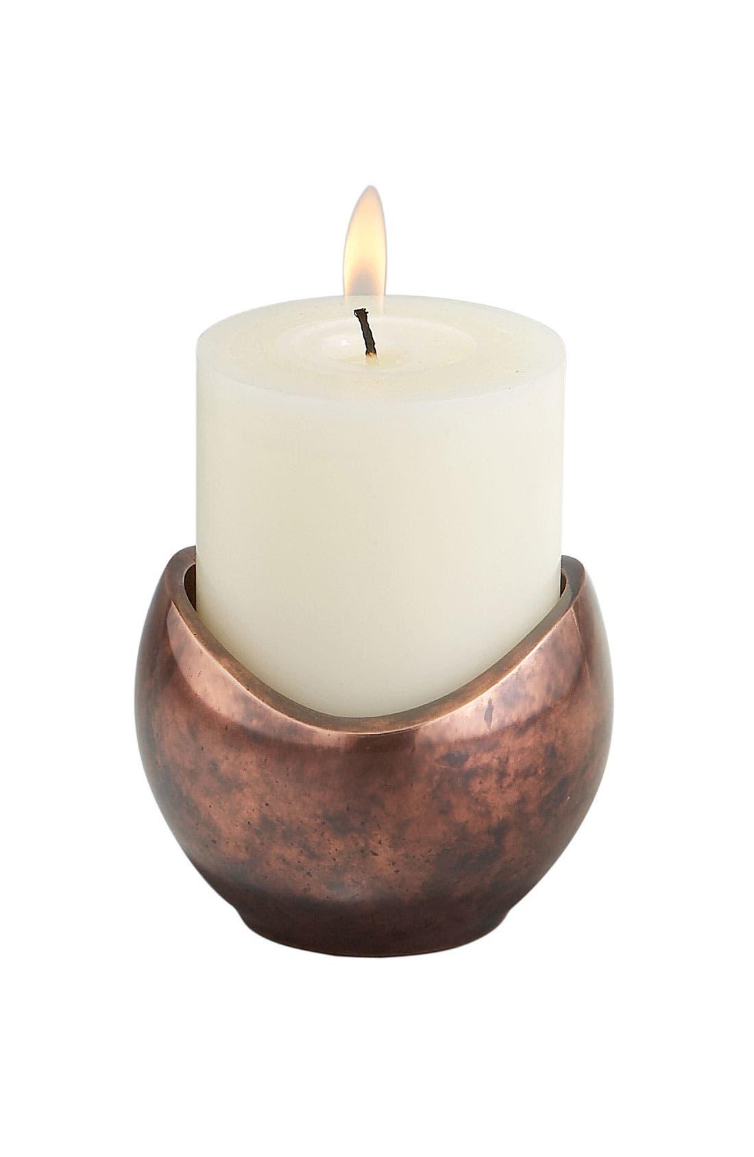 Main Image - Nambé 'Pebble' Pillar Candle Holder