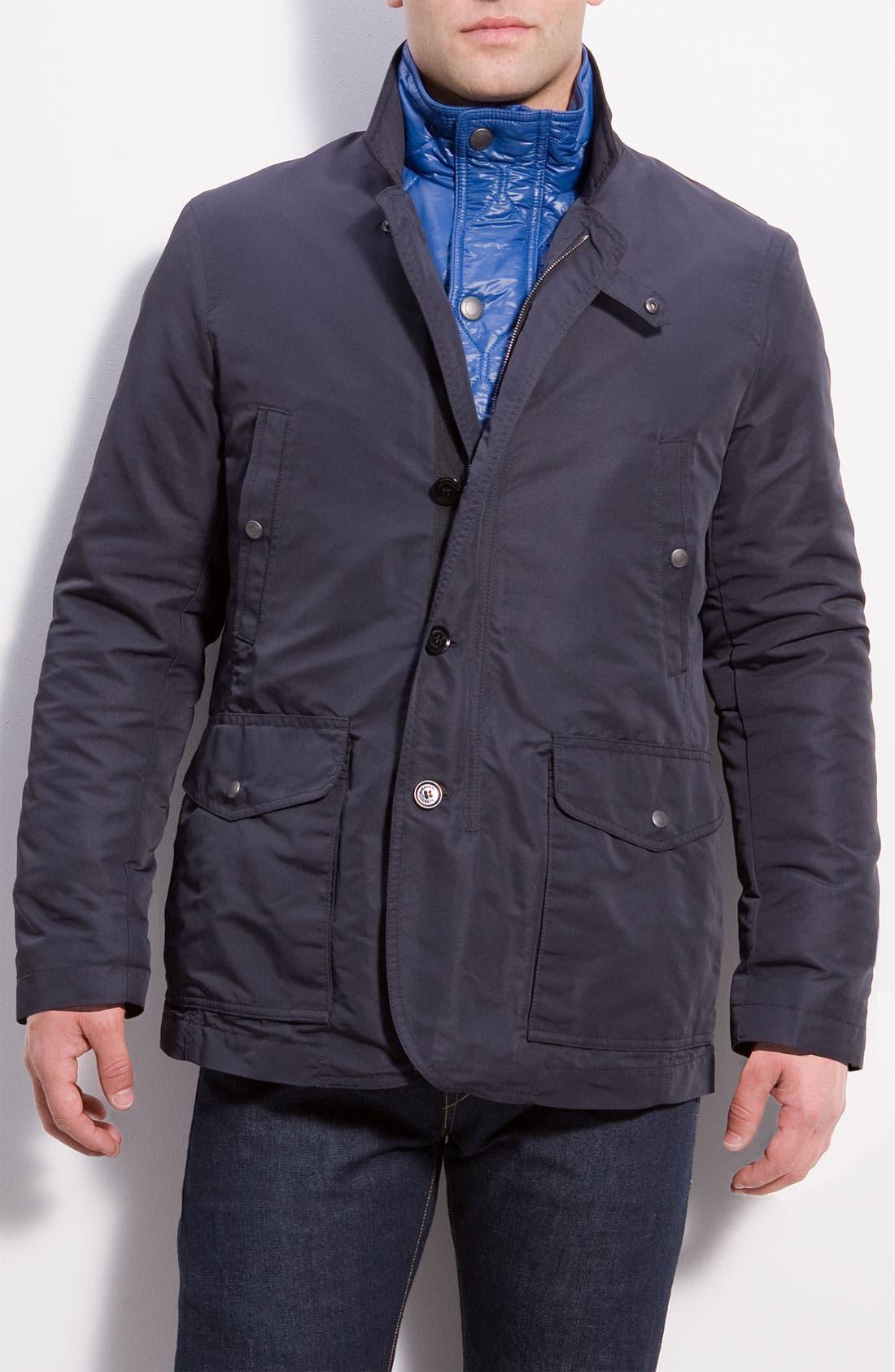 Alternate Image 1 Selected - Burberry Brit Layered Jacket