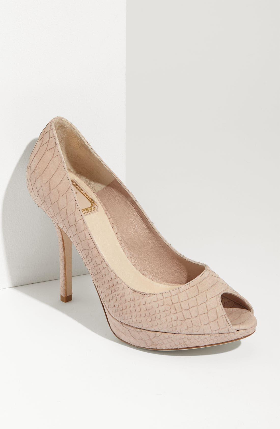 Alternate Image 1 Selected - Dior 'Miss Dior' Peep Toe Pump