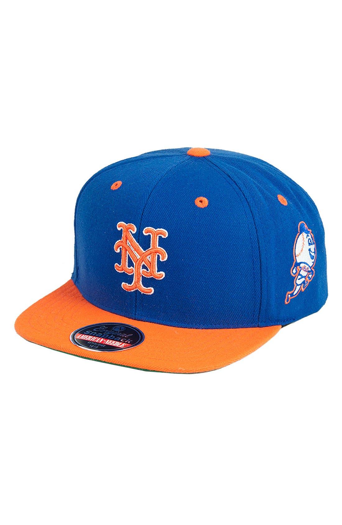 Alternate Image 1 Selected - American Needle 'Blockhead Mets' Snapback Baseball Cap