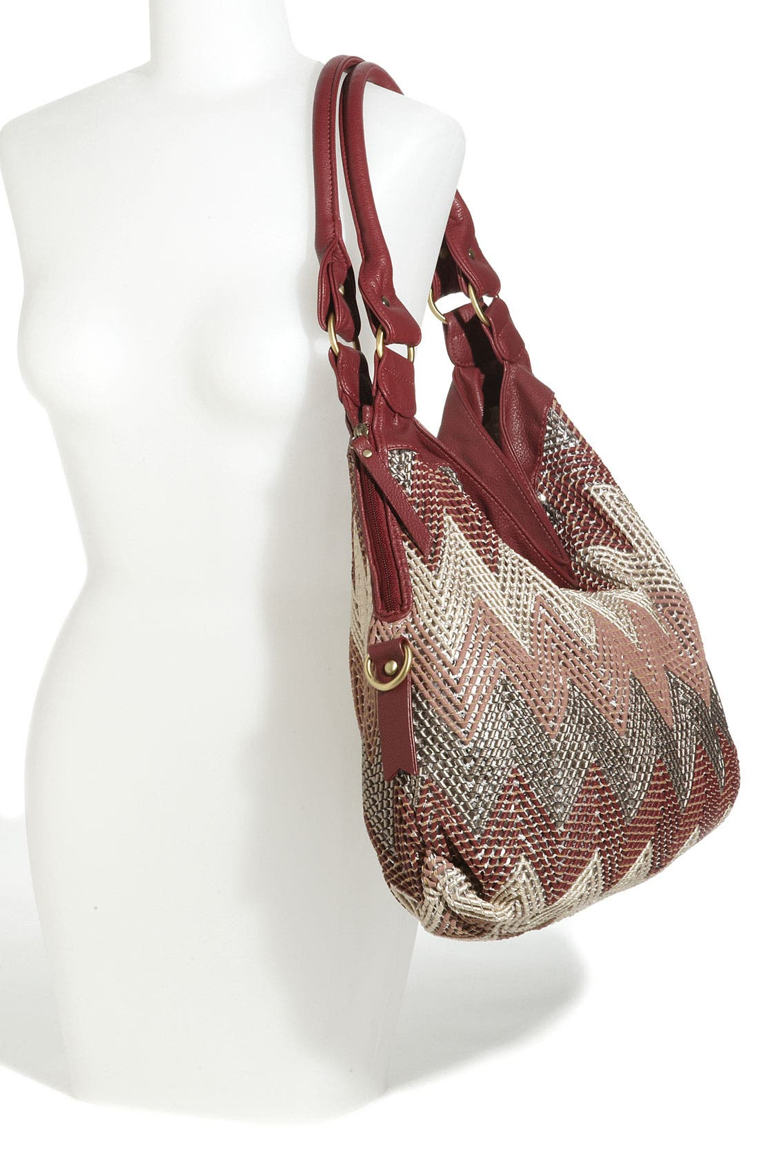 Alternate Image 2  - Big Buddha Faux Leather Hobo