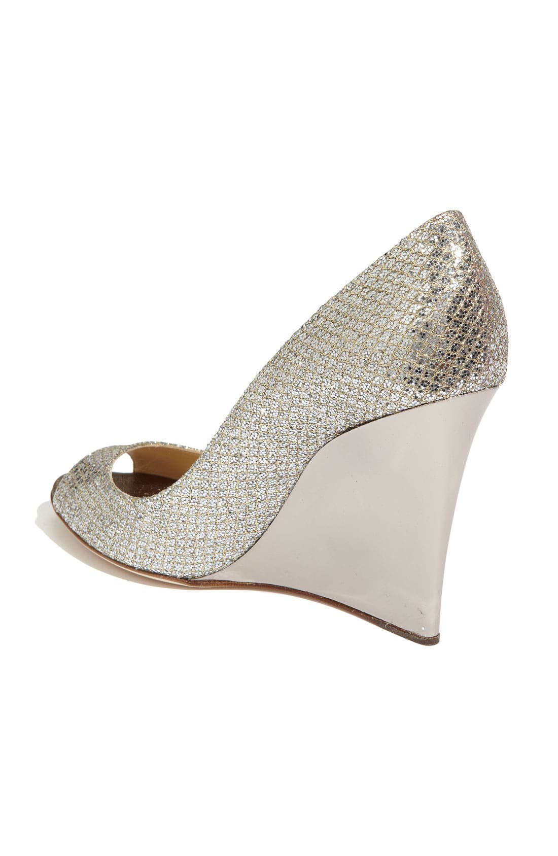 Alternate Image 2  - Jimmy Choo 'Bello' Glitter Wedge