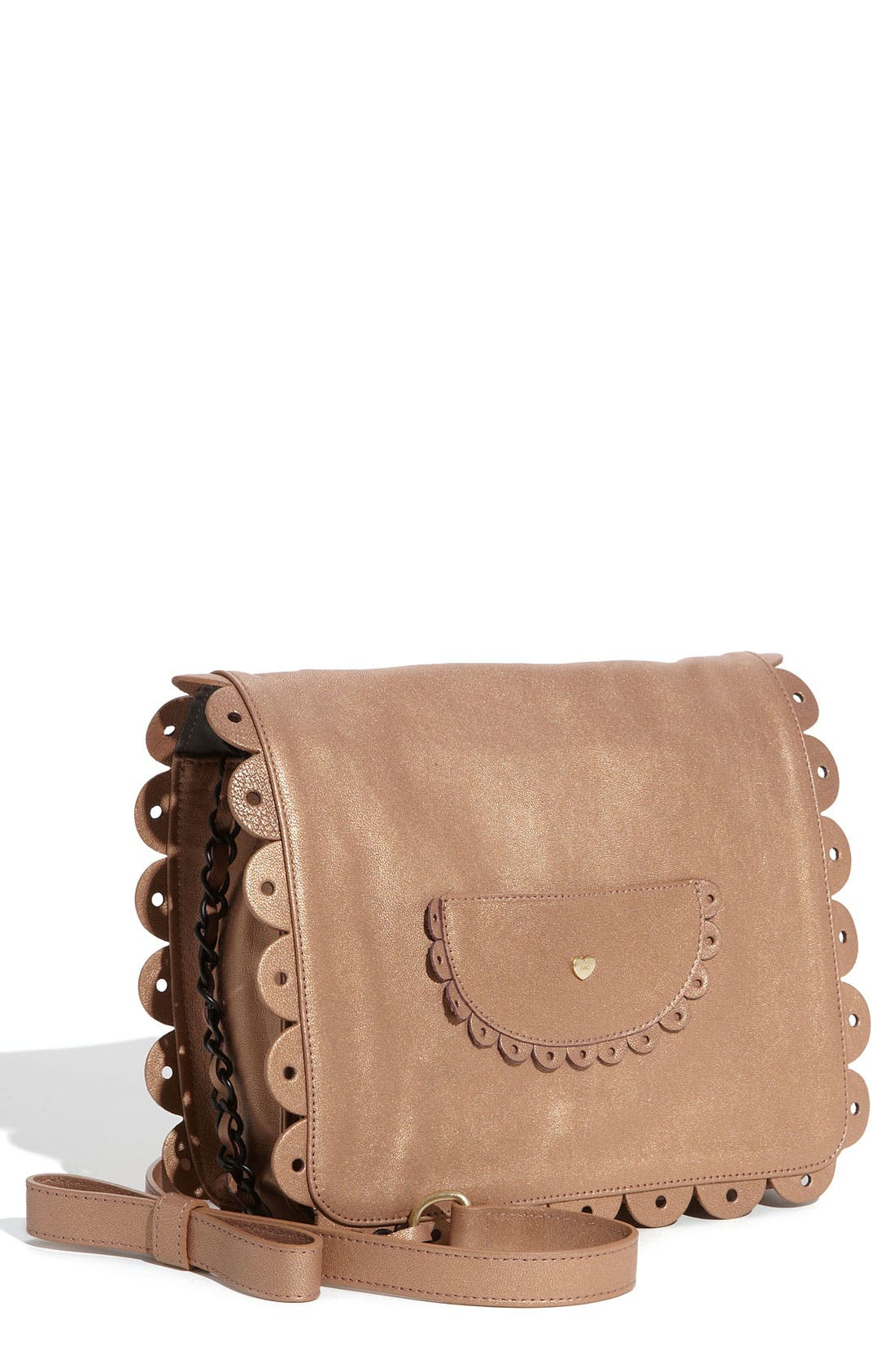 Main Image - See By Chloé 'Poya Metallic Vintage - Large' Crossbody Bag