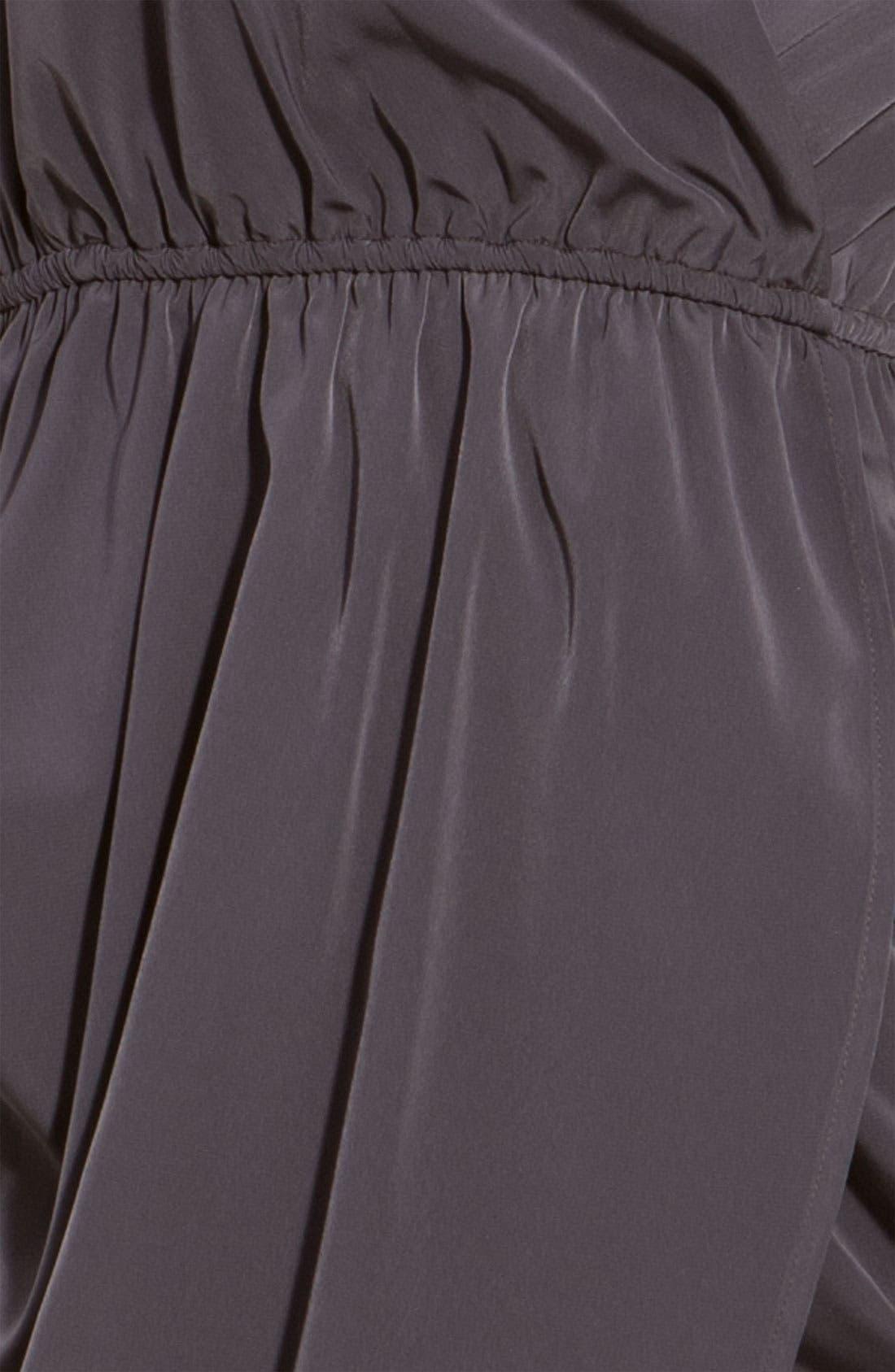 Alternate Image 3  - Soprano Faux Wrap Draped Tulip Dress (Juniors)