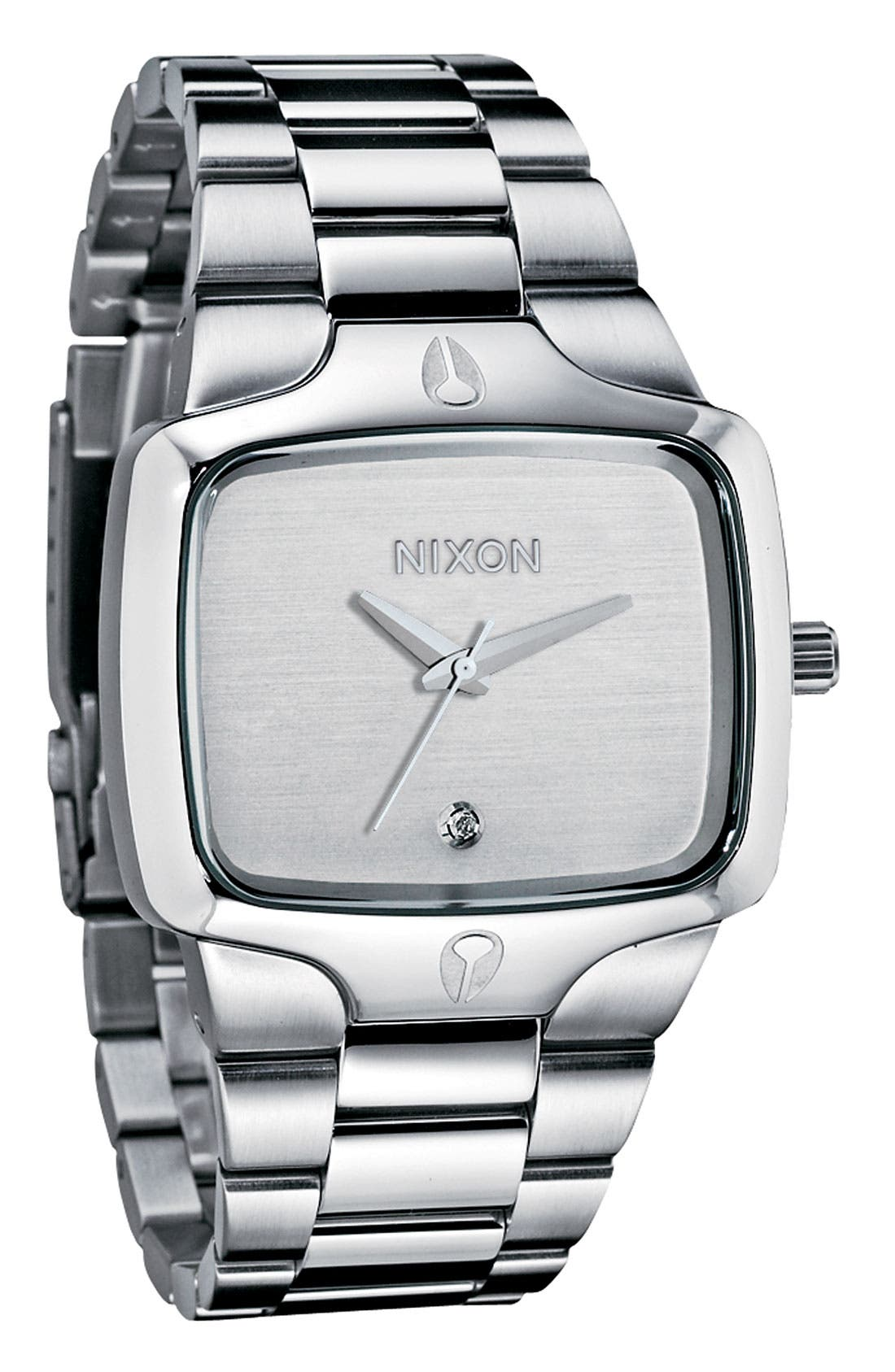 Alternate Image 1 Selected - Nixon 'The Player' Bracelet Watch