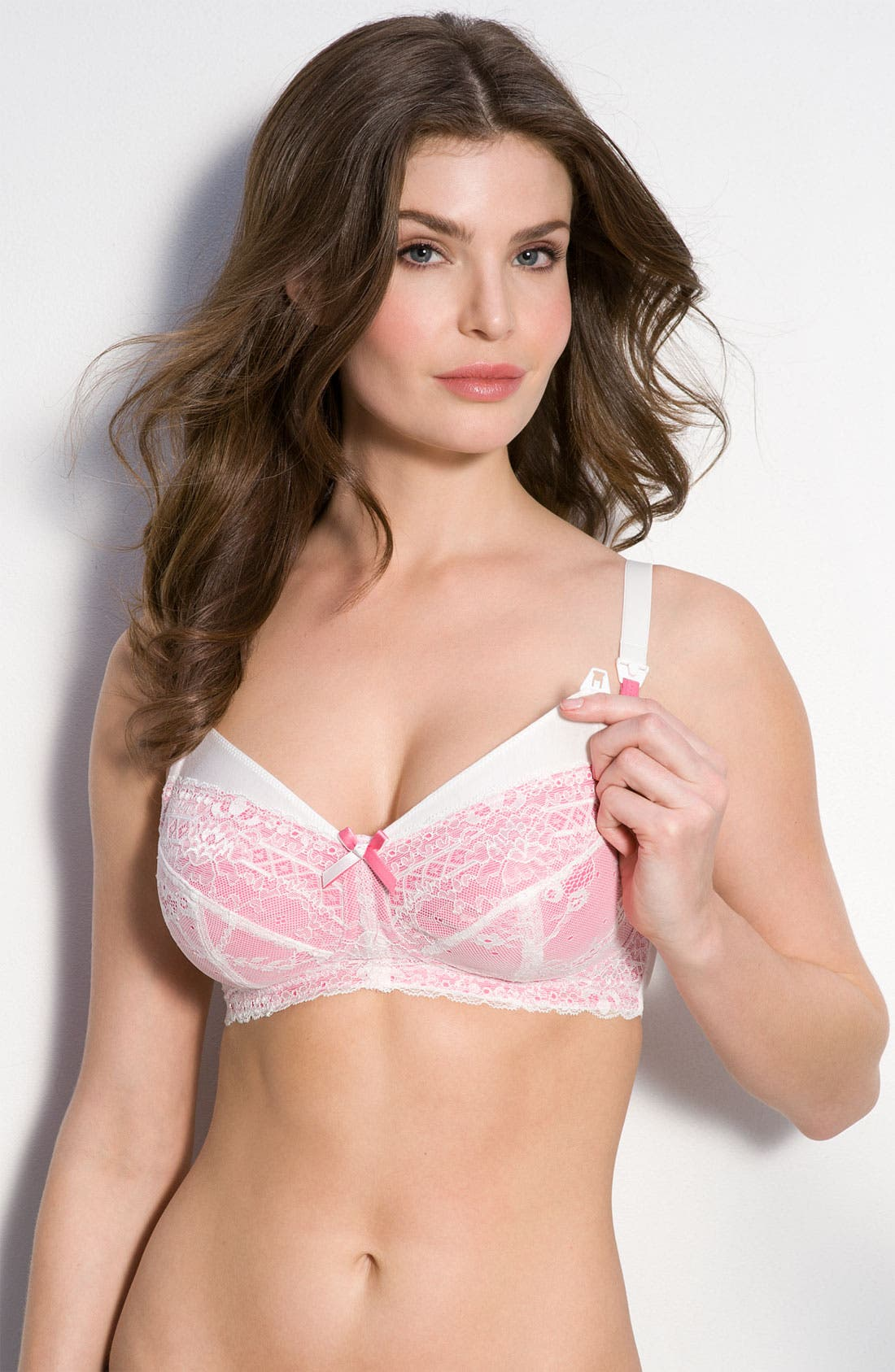 Alternate Image 1 Selected - Panache 'Sophie 5821' Wireless Nursing Bra (DD Cup & Up)