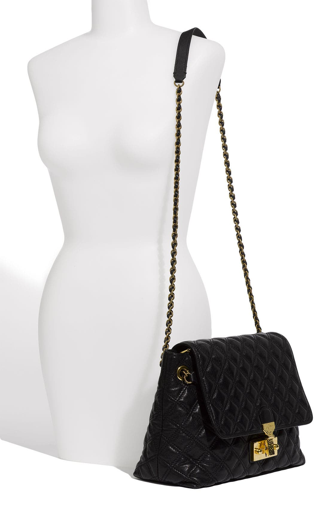 Alternate Image 2  - MARC JACOBS 'Baroque - Extra Large' Leather Shoulder Bag