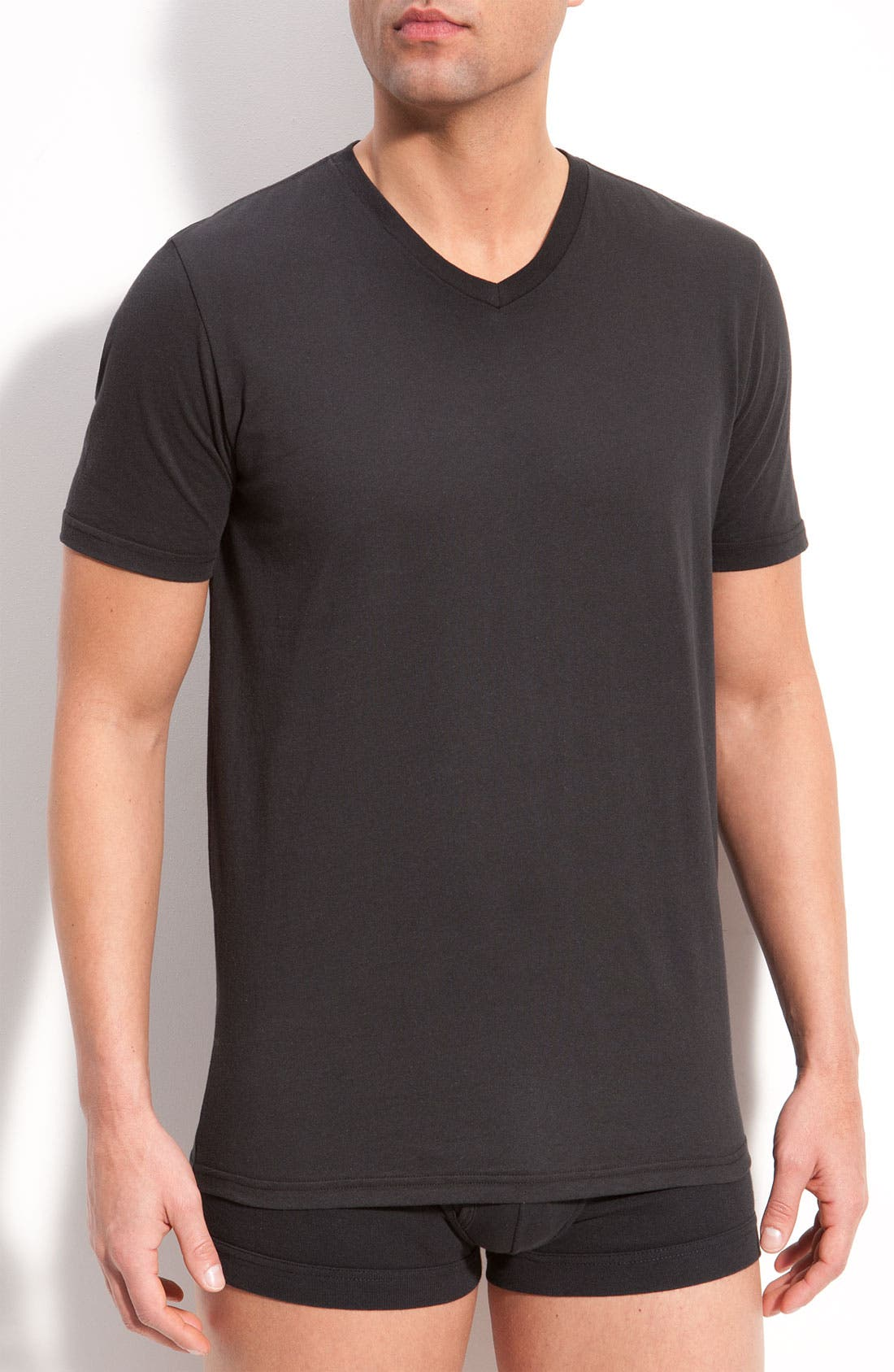 Alternate Image 1 Selected - Michael Kors V-Neck Shirt (3-Pack)
