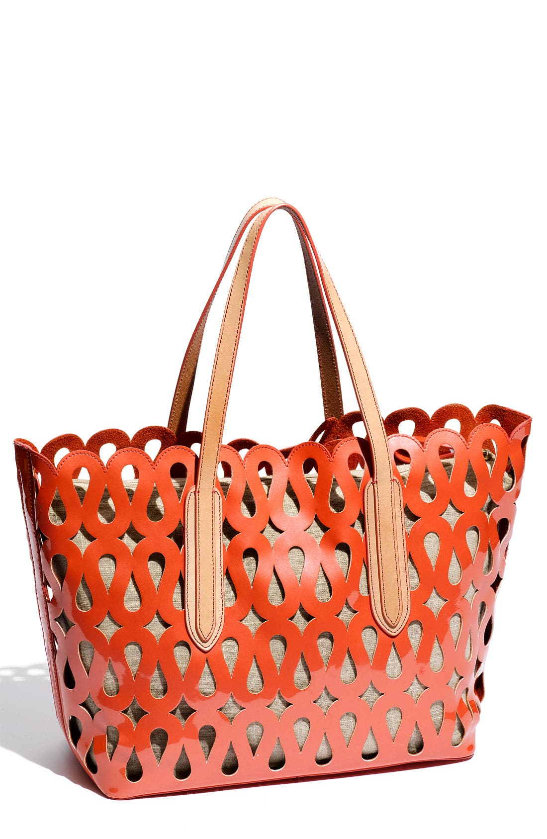 Alternate Image 1 Selected - Sondra Roberts Patent Tote