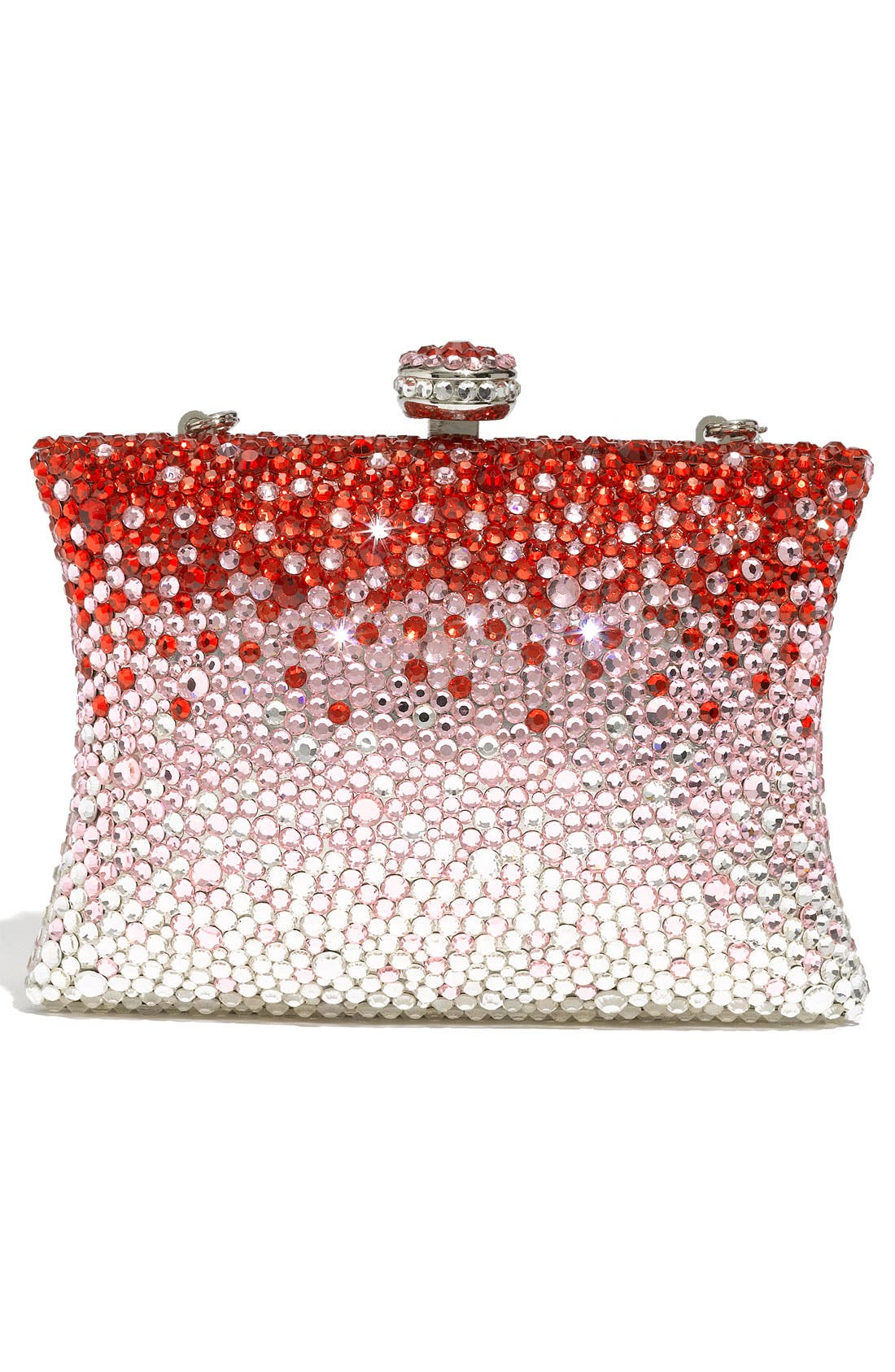 Alternate Image 4  - Natasha Couture Rhinestone Clutch