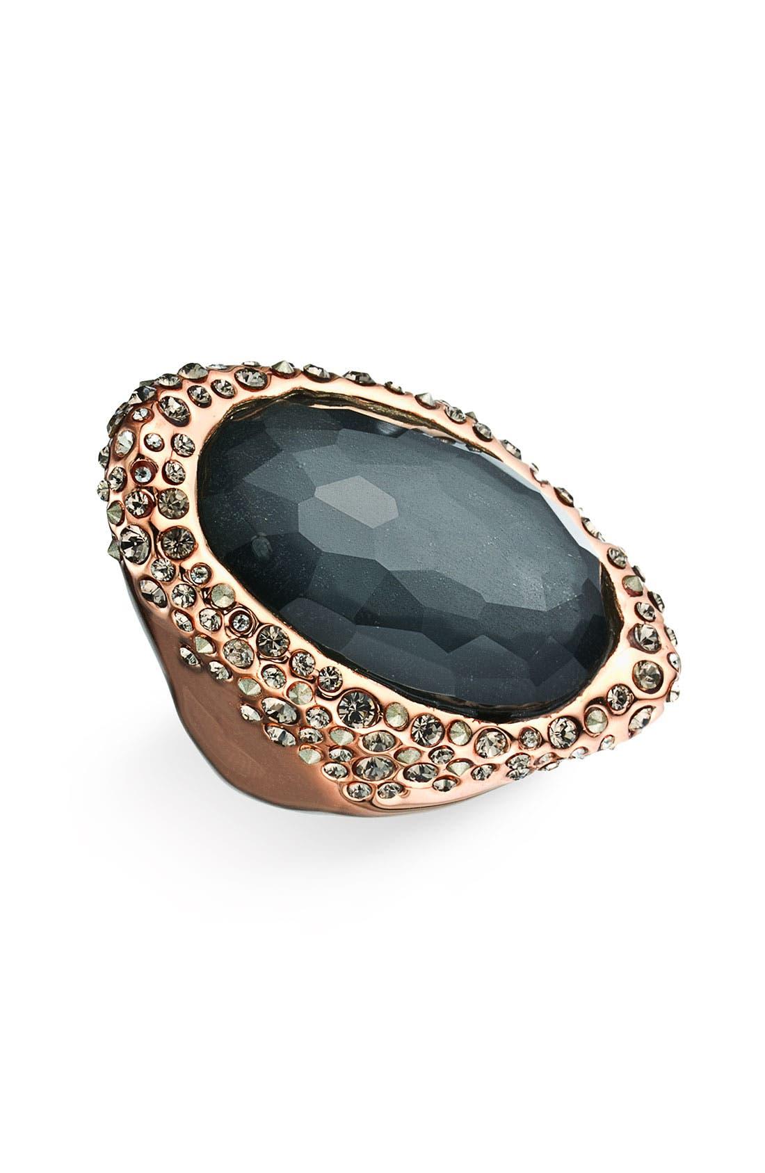 Alternate Image 1 Selected - Alexis Bittar 'Miss Havisham' Crystal Encrusted Doublet Ring