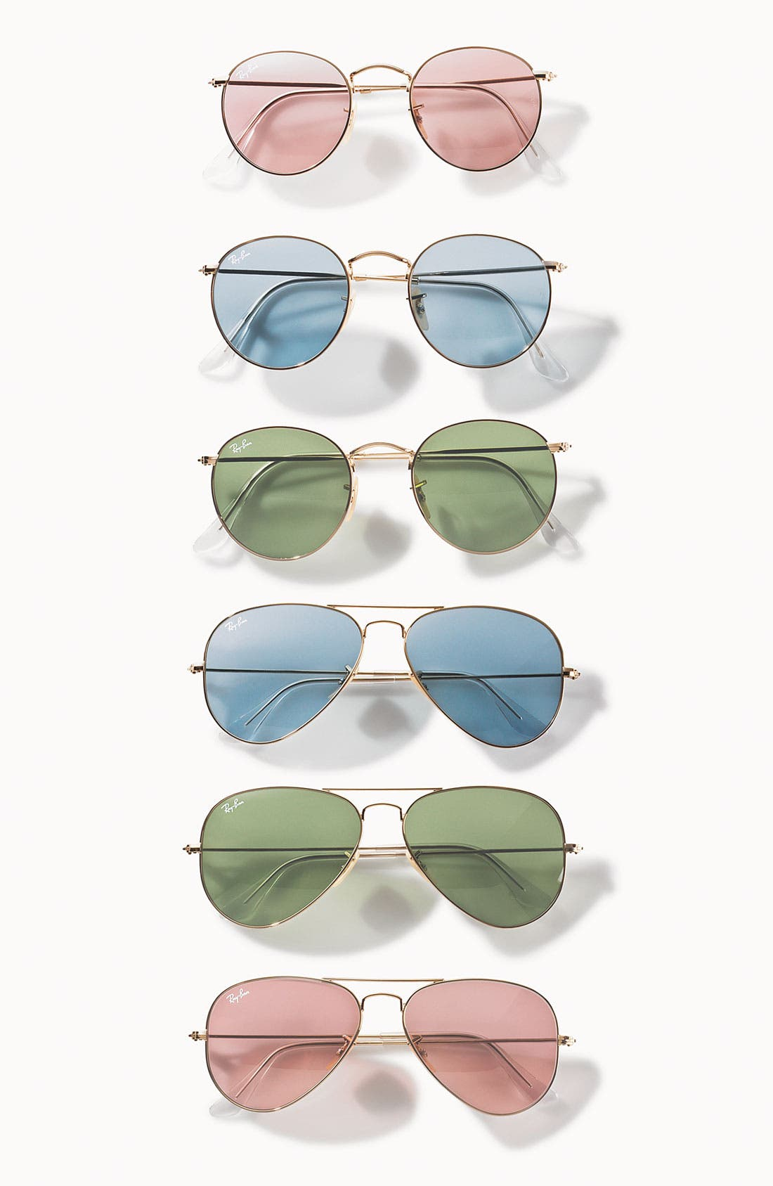 Alternate Image 2  - Ray-Ban 'Legend Collection' Round 50mm Sunglasses