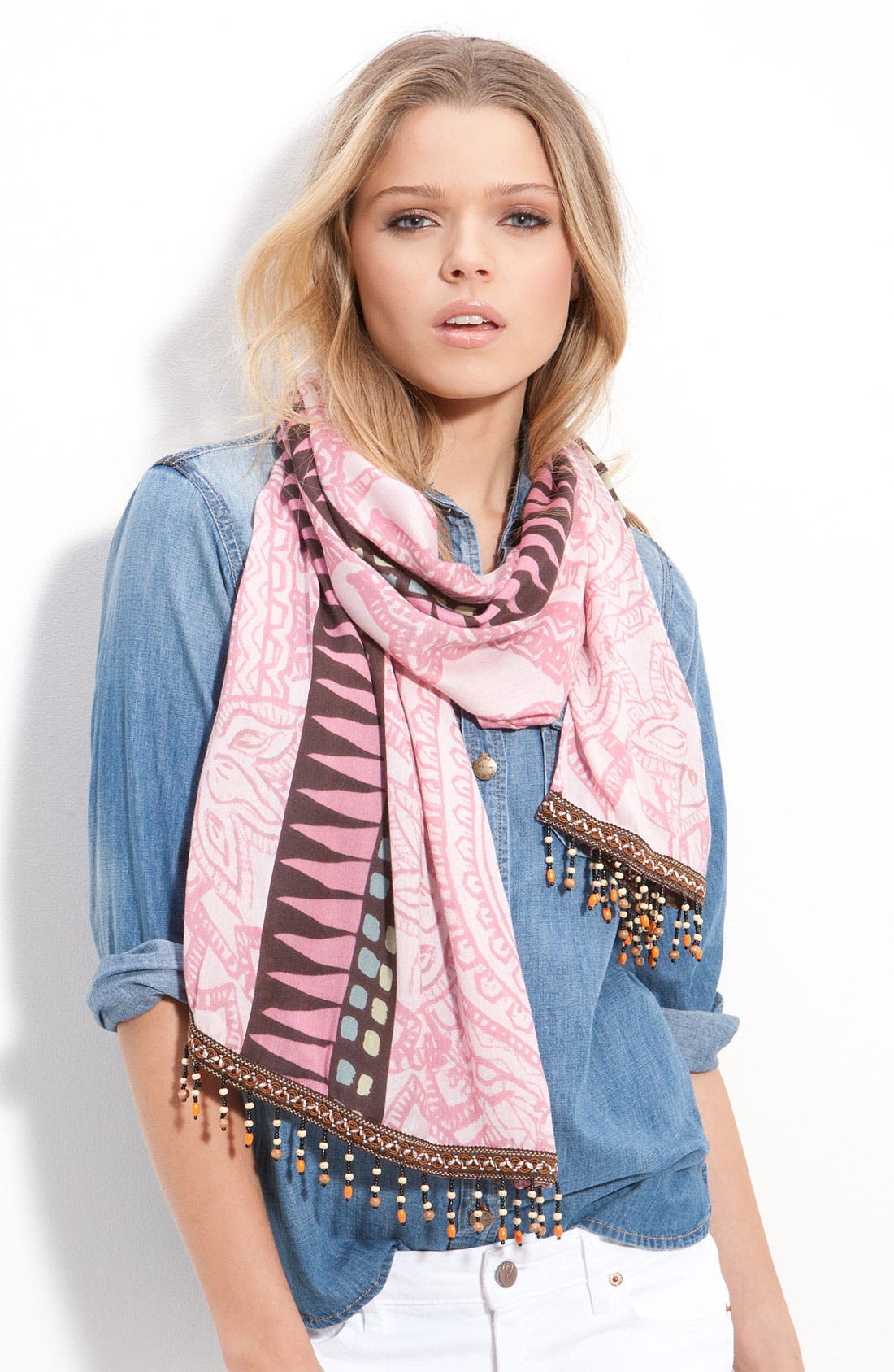 Alternate Image 1 Selected - Hinge® 'Faded Paisley' Scarf