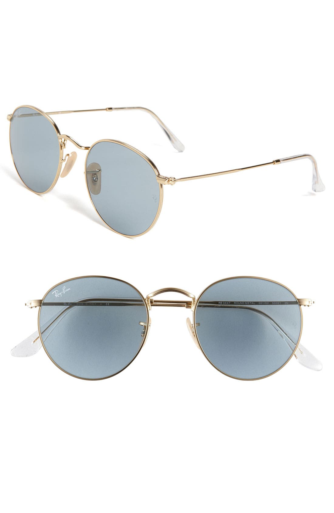 Alternate Image 1 Selected - Ray-Ban 'Legend Collection' Round 50mm Sunglasses