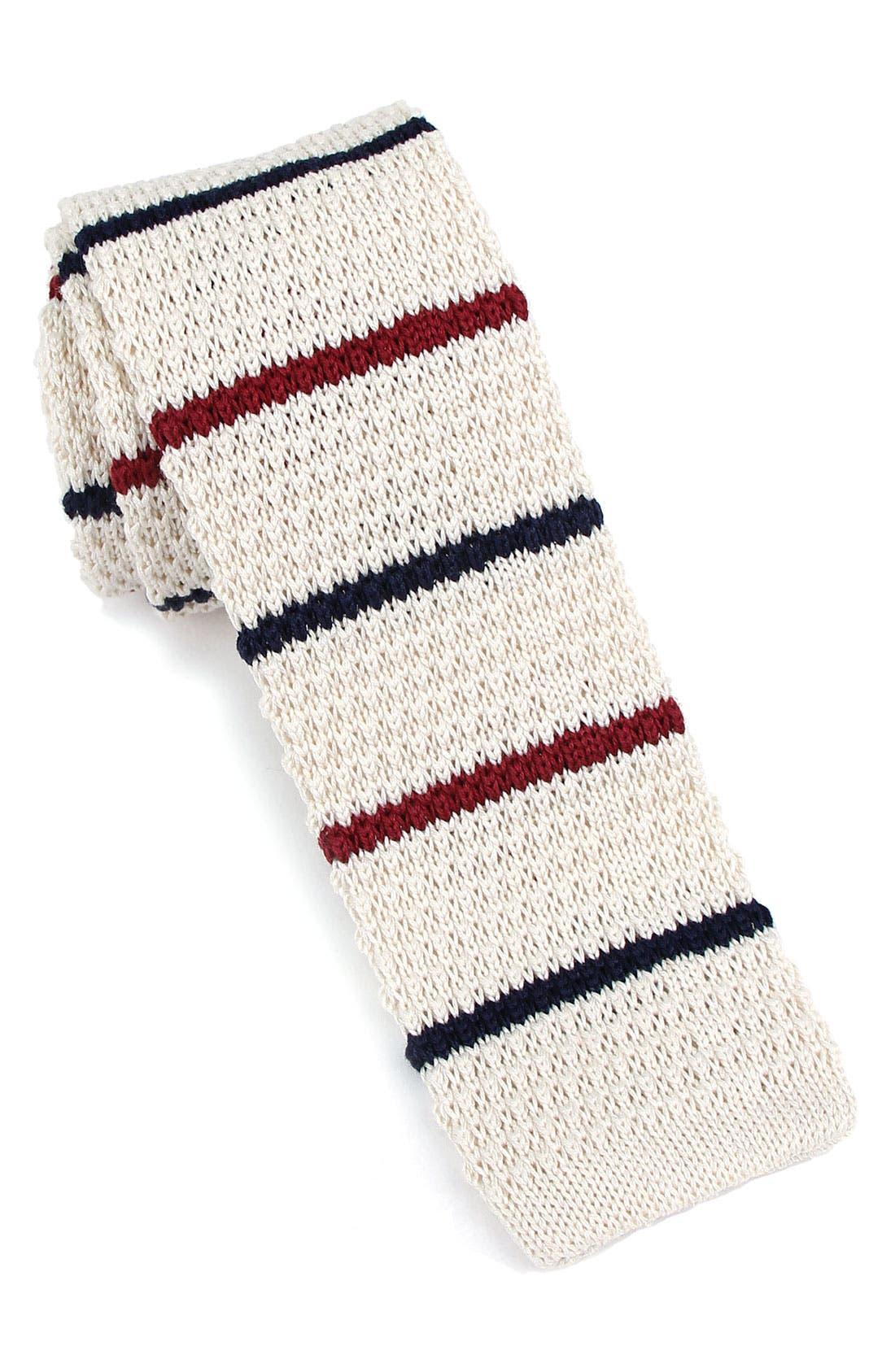 Main Image - 1901 Skinny Knit Tie