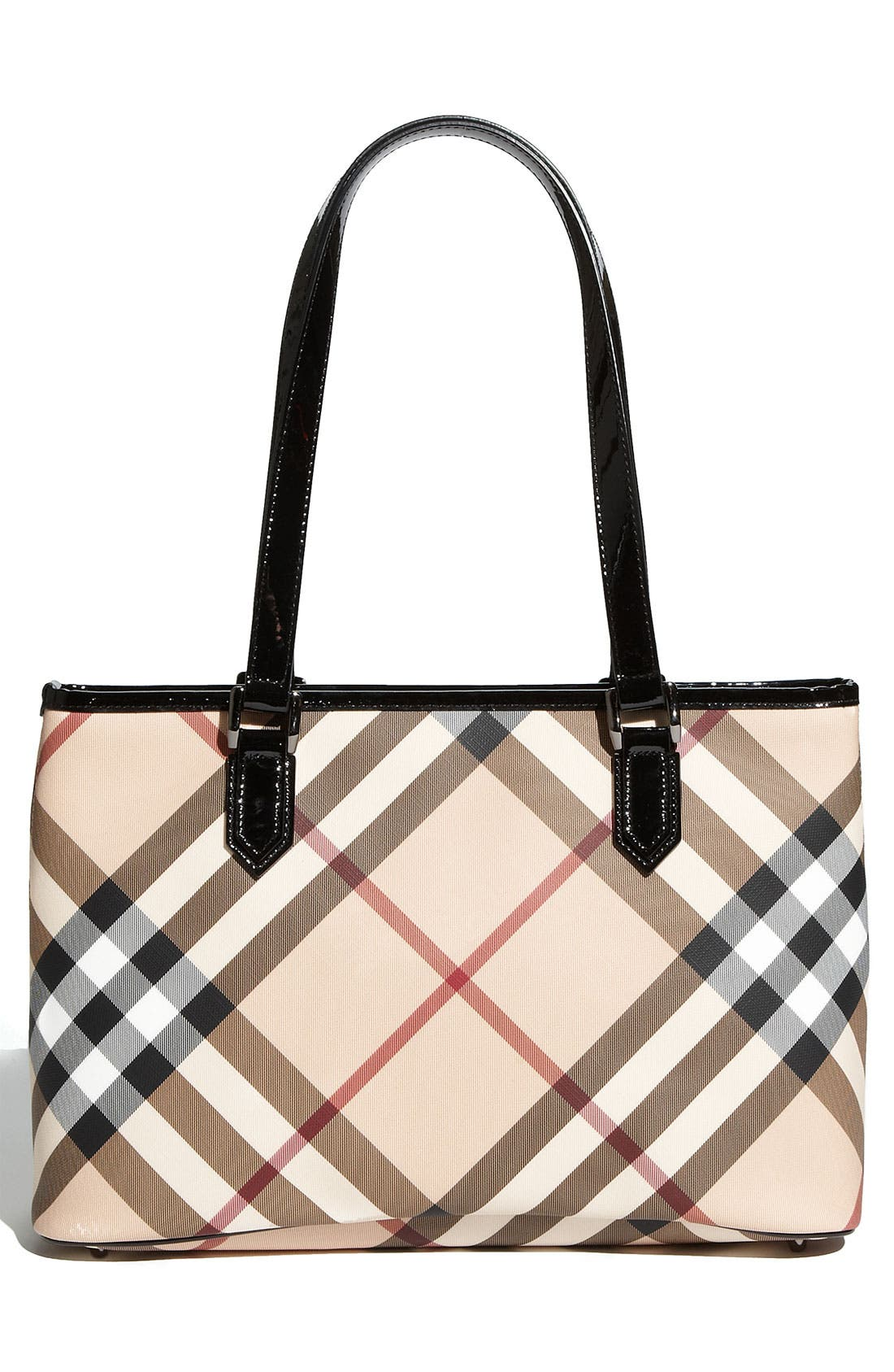 Alternate Image 4  - Burberry 'Nova Check' Shopper