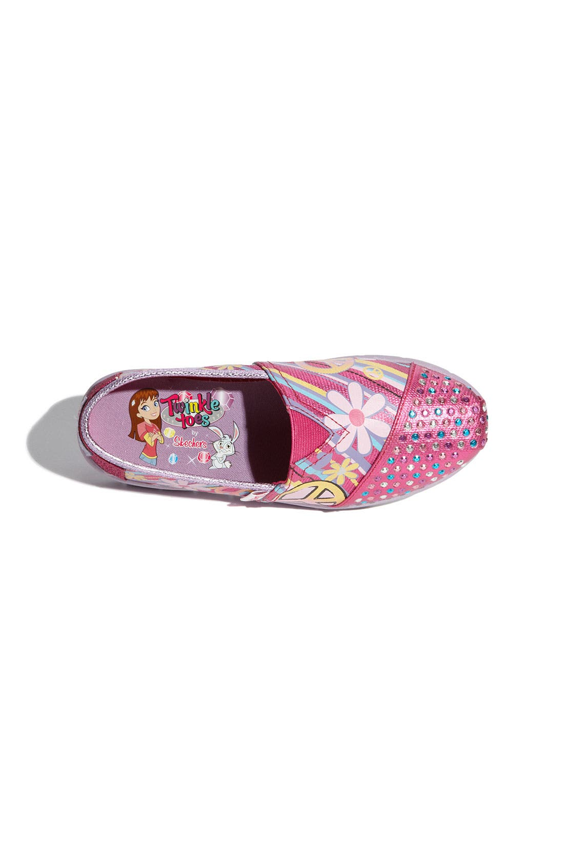 Alternate Image 3  - SKECHERS 'Shuffle Ups' Slip-On (Toddler, Little Kid & Big Kid)