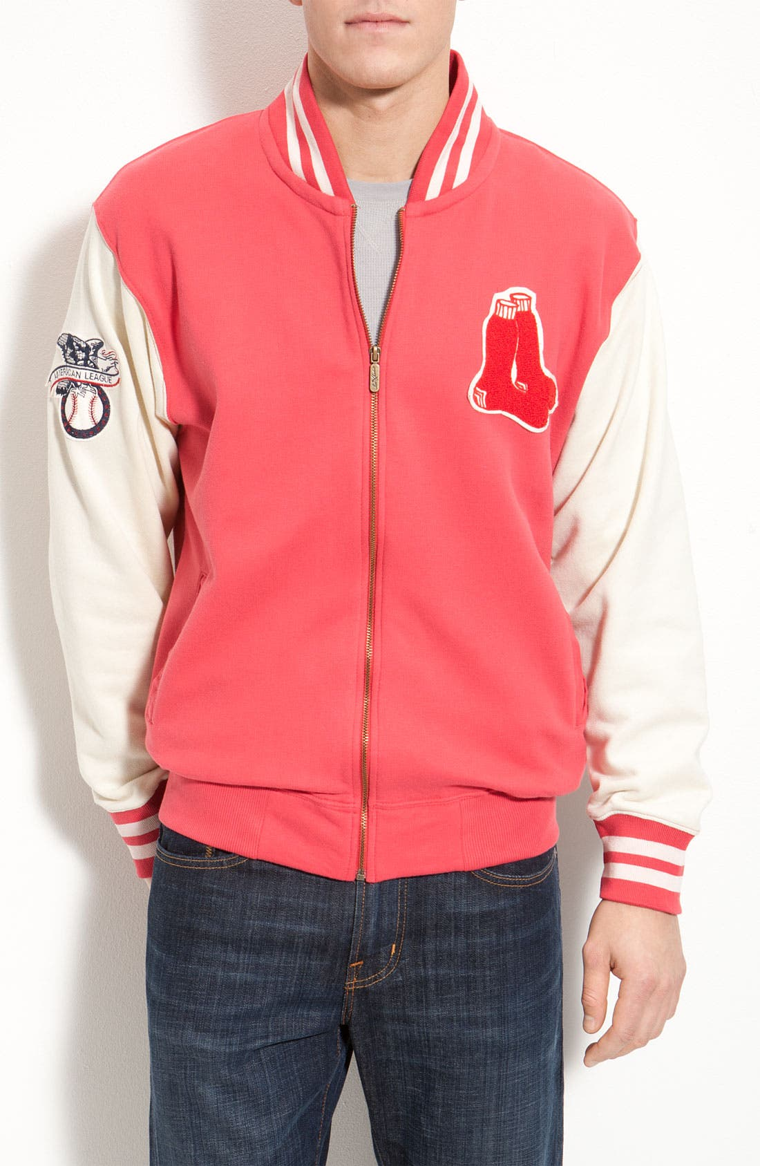 Main Image - Red Jacket 'Homeroom Red Sox' Jacket