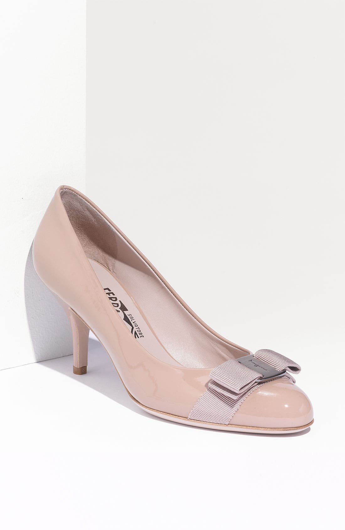 Alternate Image 1 Selected - Salvatore Ferragamo Carla Pump (Women)