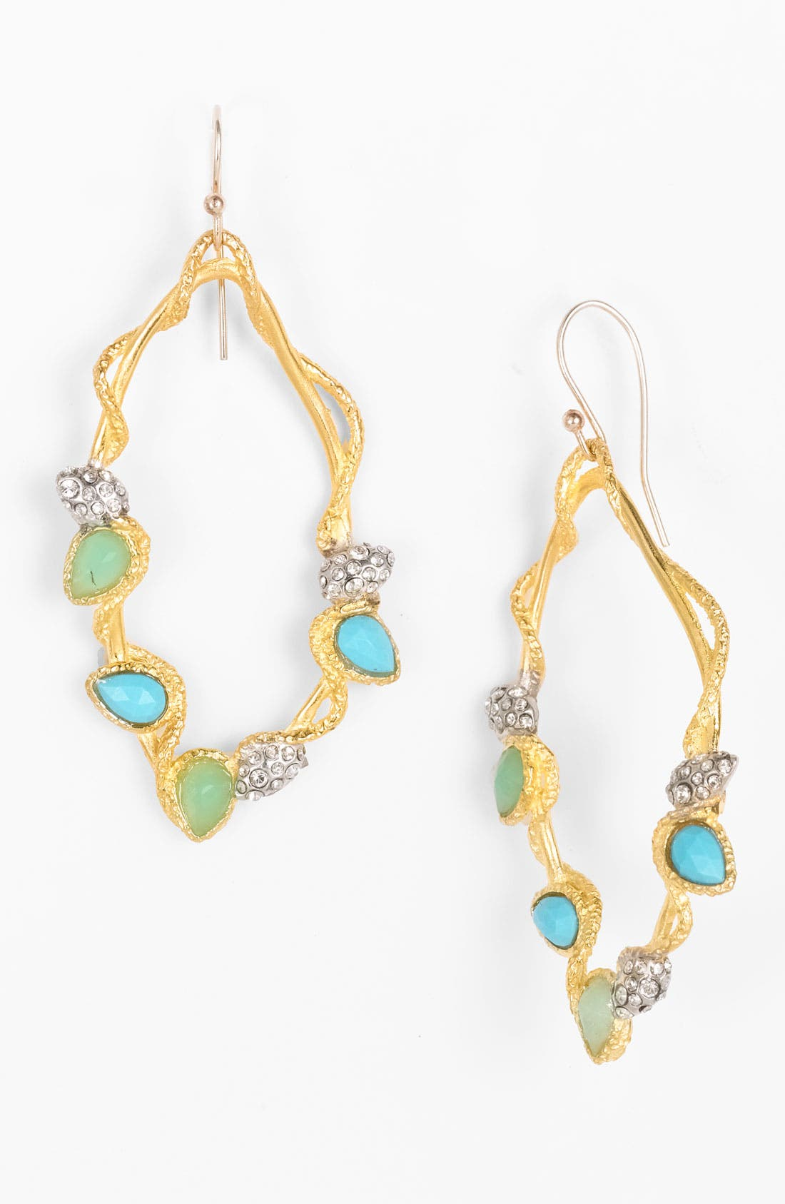 Alternate Image 1 Selected - Alexis Bittar 'Elements' Pavé Vine Teardrop Earrings (Nordstrom Exclusive)