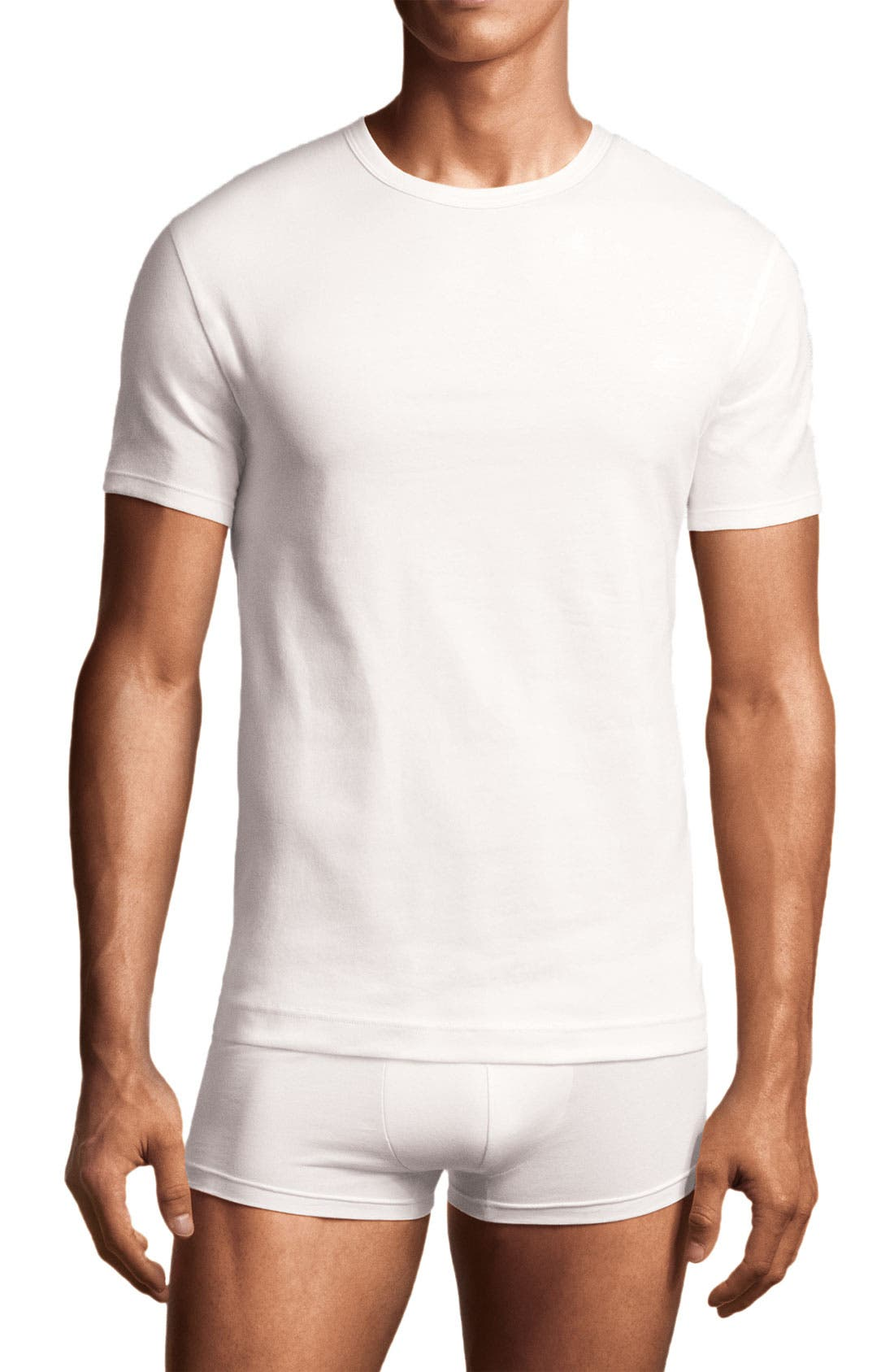 Alternate Image 1 Selected - Calvin Klein Crewneck T-Shirt (2-Pack) (Tall)