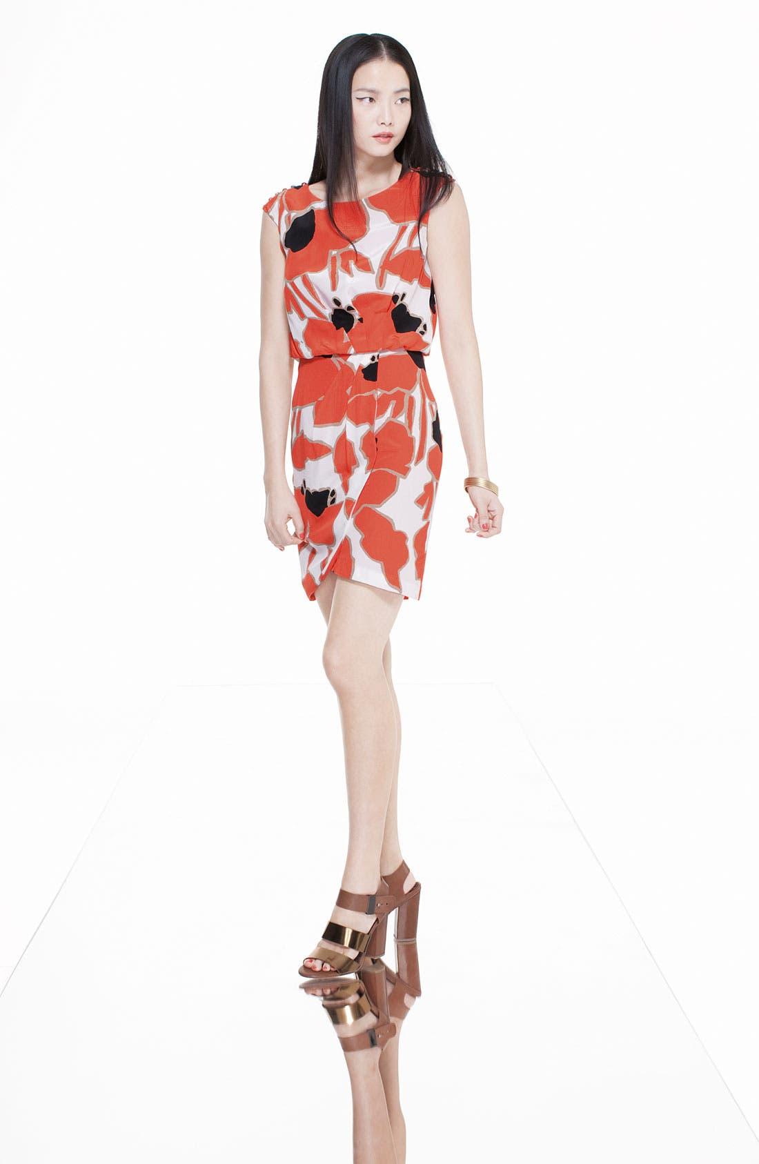 Alternate Image 4  - Jessica Simpson Button Detail Pleat Front Dress
