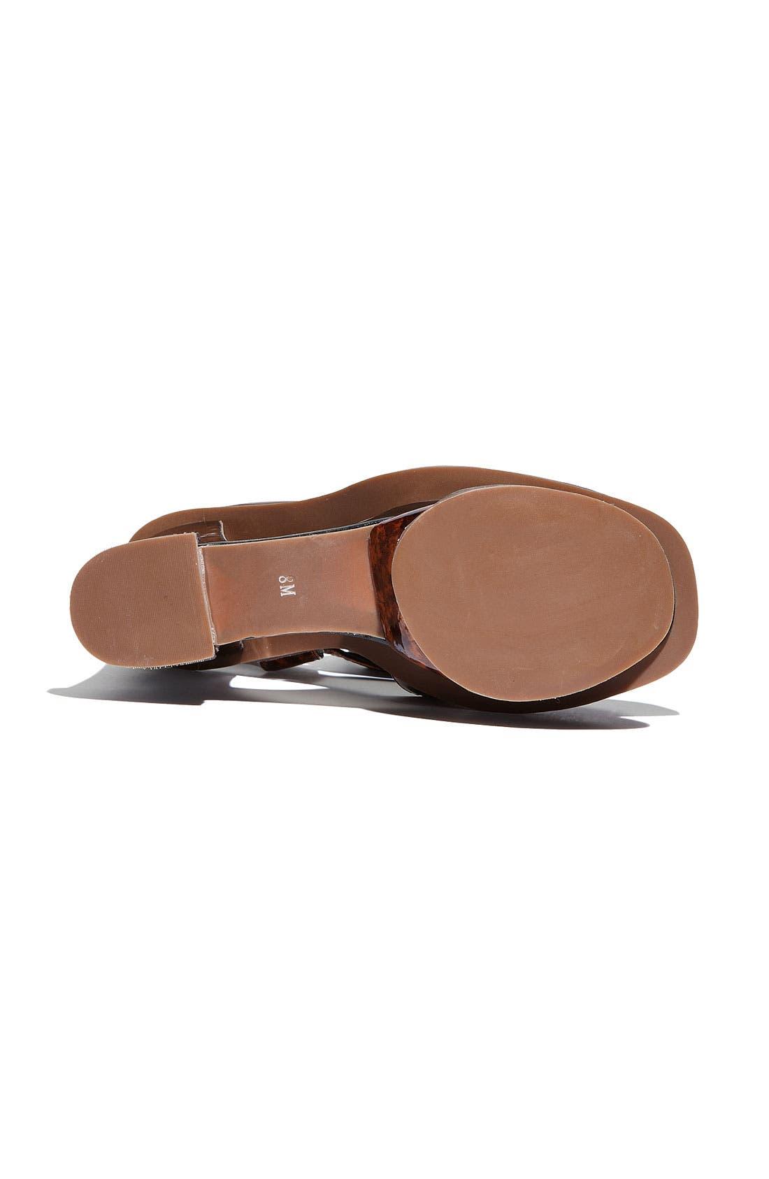 Alternate Image 4  - Jeffrey Campbell 'Hare 2 Mod' Platform Sandal