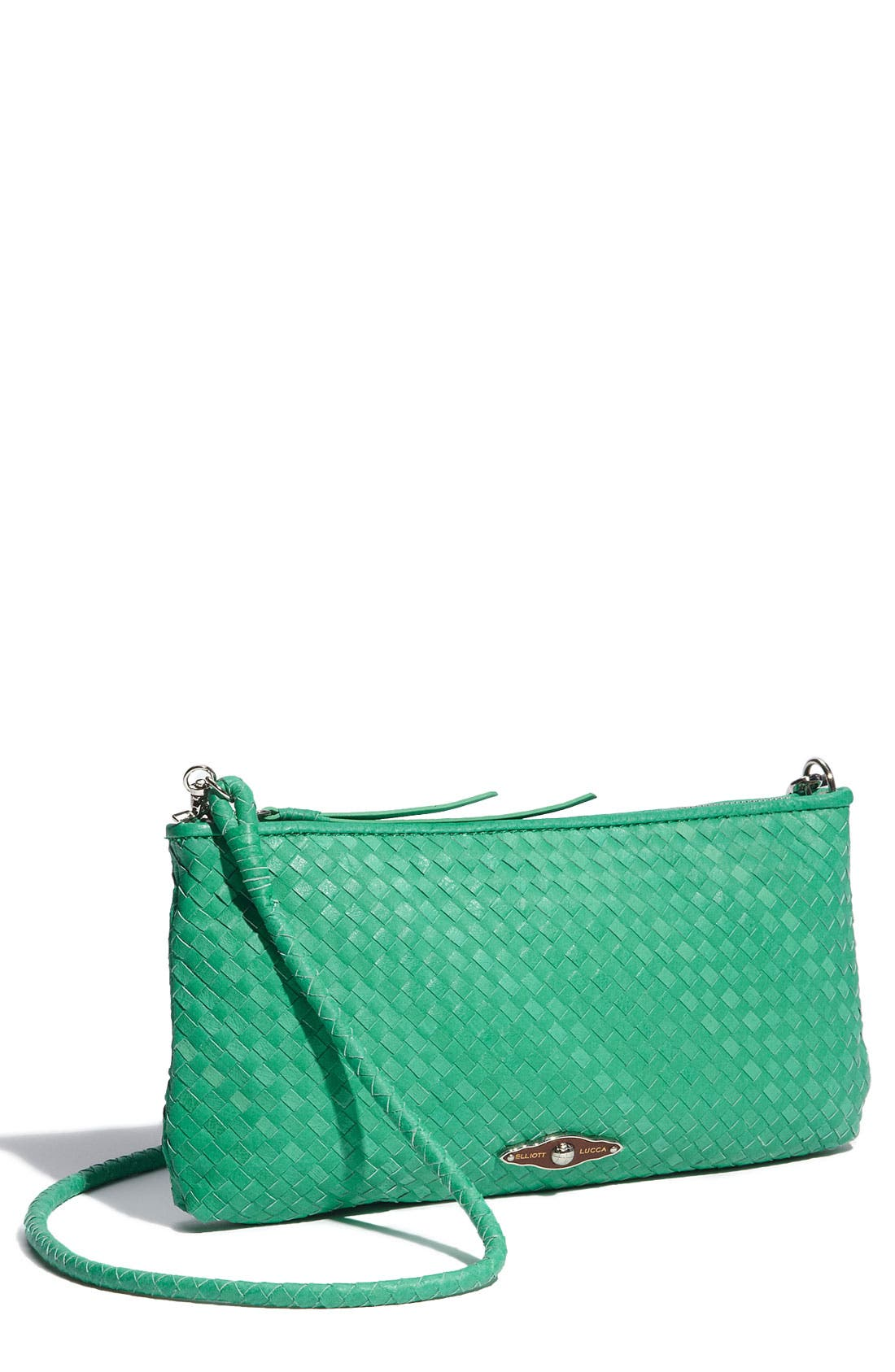 Main Image - Elliott Lucca '3-Way' Woven Leather Demi Bag