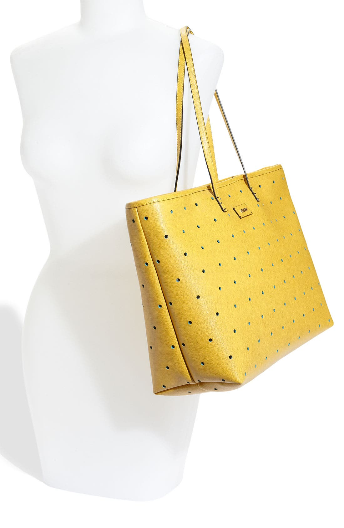 Alternate Image 2  - Fendi 'Roll' Perforated Tote
