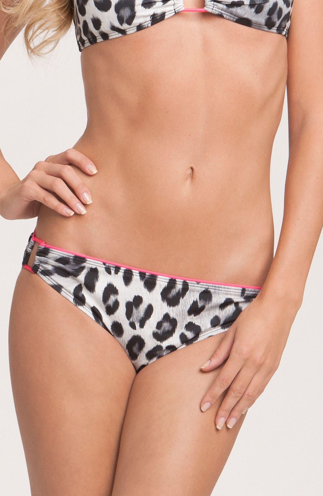 Alternate Image 1 Selected - Vince Camuto 'Wild Cheetah' Bikini Bottoms